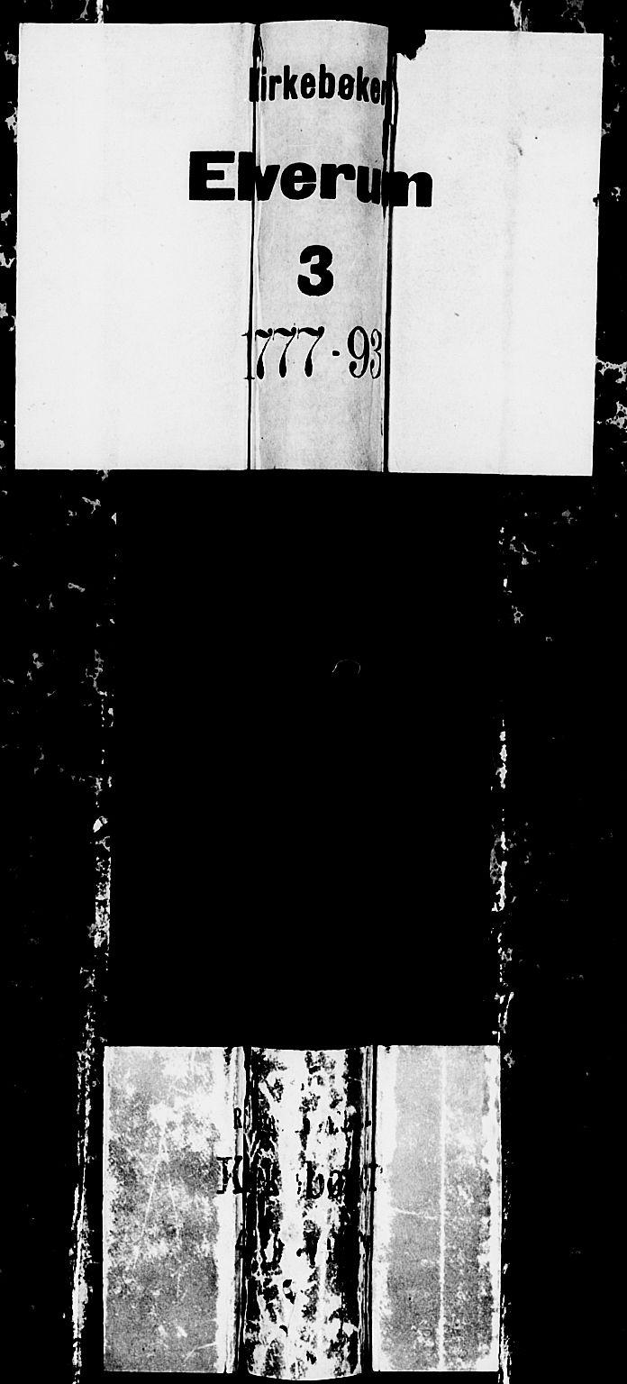 SAH, Elverum prestekontor, H/Ha/Haa/L0005: Ministerialbok nr. 5, 1777-1793