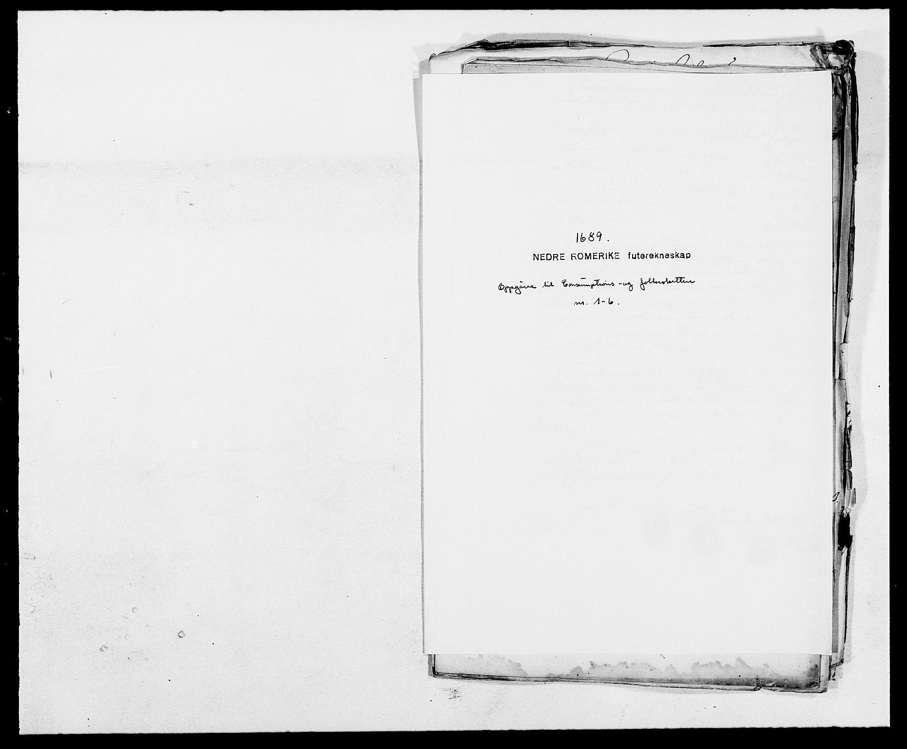 RA, Rentekammeret inntil 1814, Reviderte regnskaper, Fogderegnskap, R11/L0574: Fogderegnskap Nedre Romerike, 1689-1690, s. 73