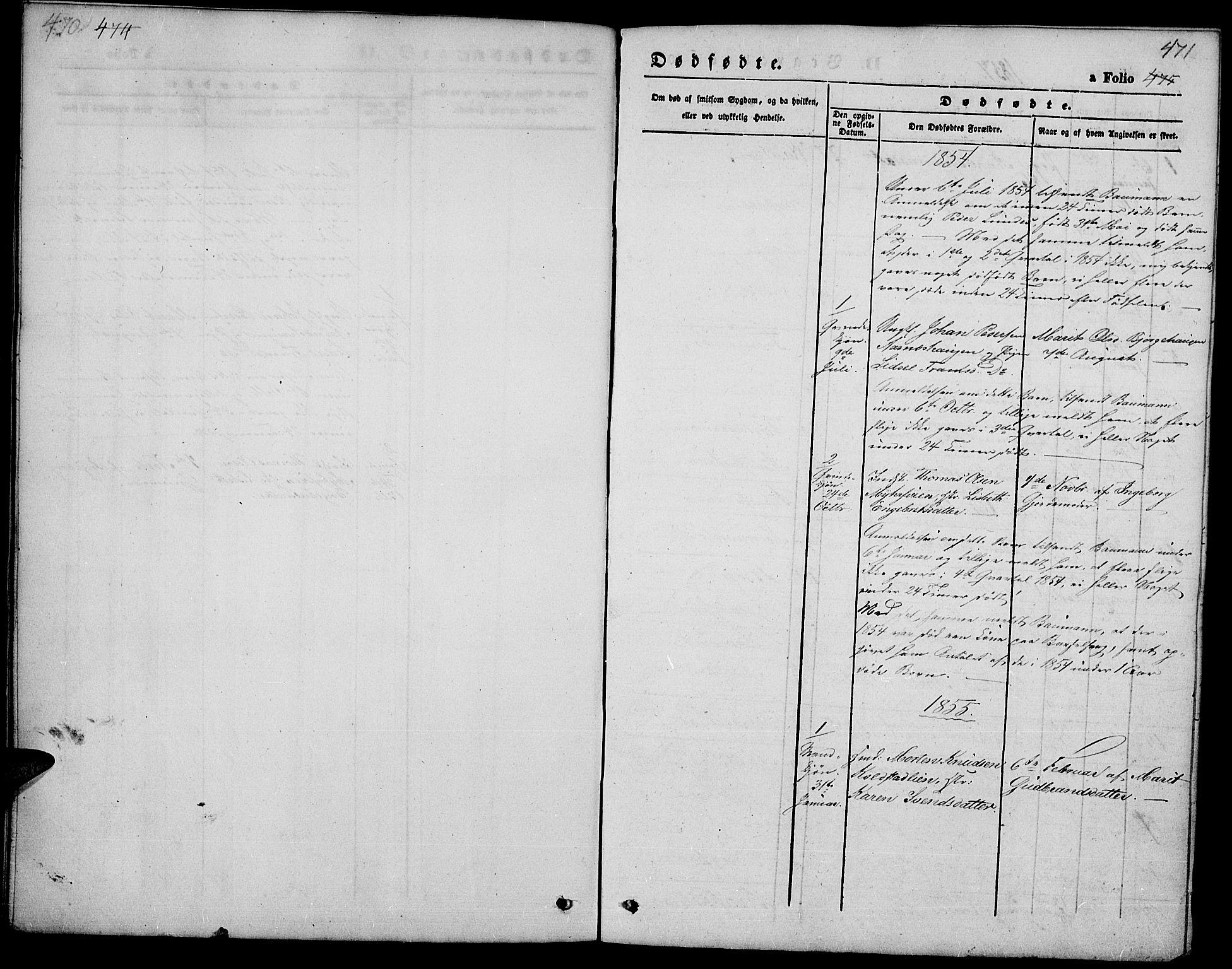 SAH, Ringebu prestekontor, Klokkerbok nr. 3, 1854-1866, s. 470-471