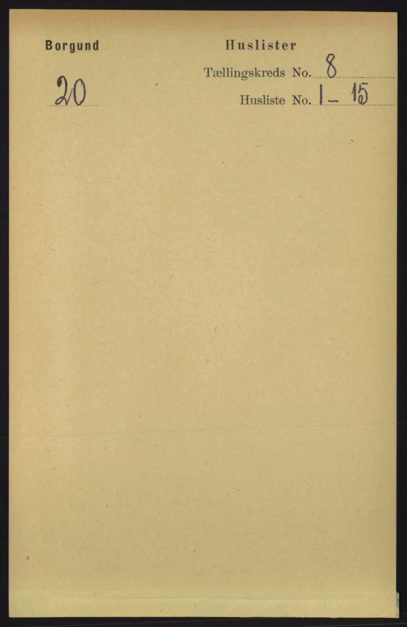 RA, Folketelling 1891 for 1531 Borgund herred, 1891, s. 2106