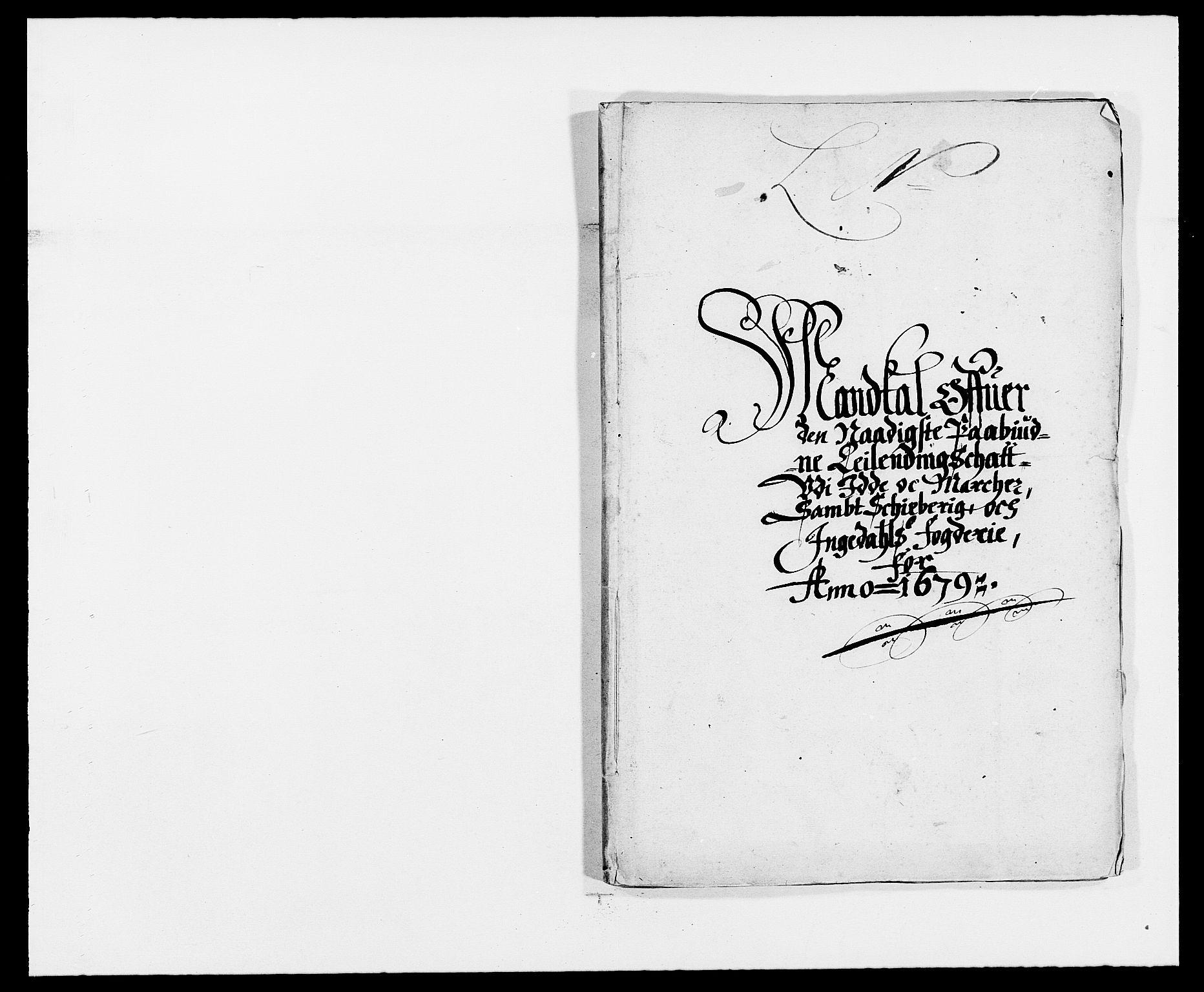 RA, Rentekammeret inntil 1814, Reviderte regnskaper, Fogderegnskap, R01/L0001: Fogderegnskap Idd og Marker, 1678-1679, s. 312