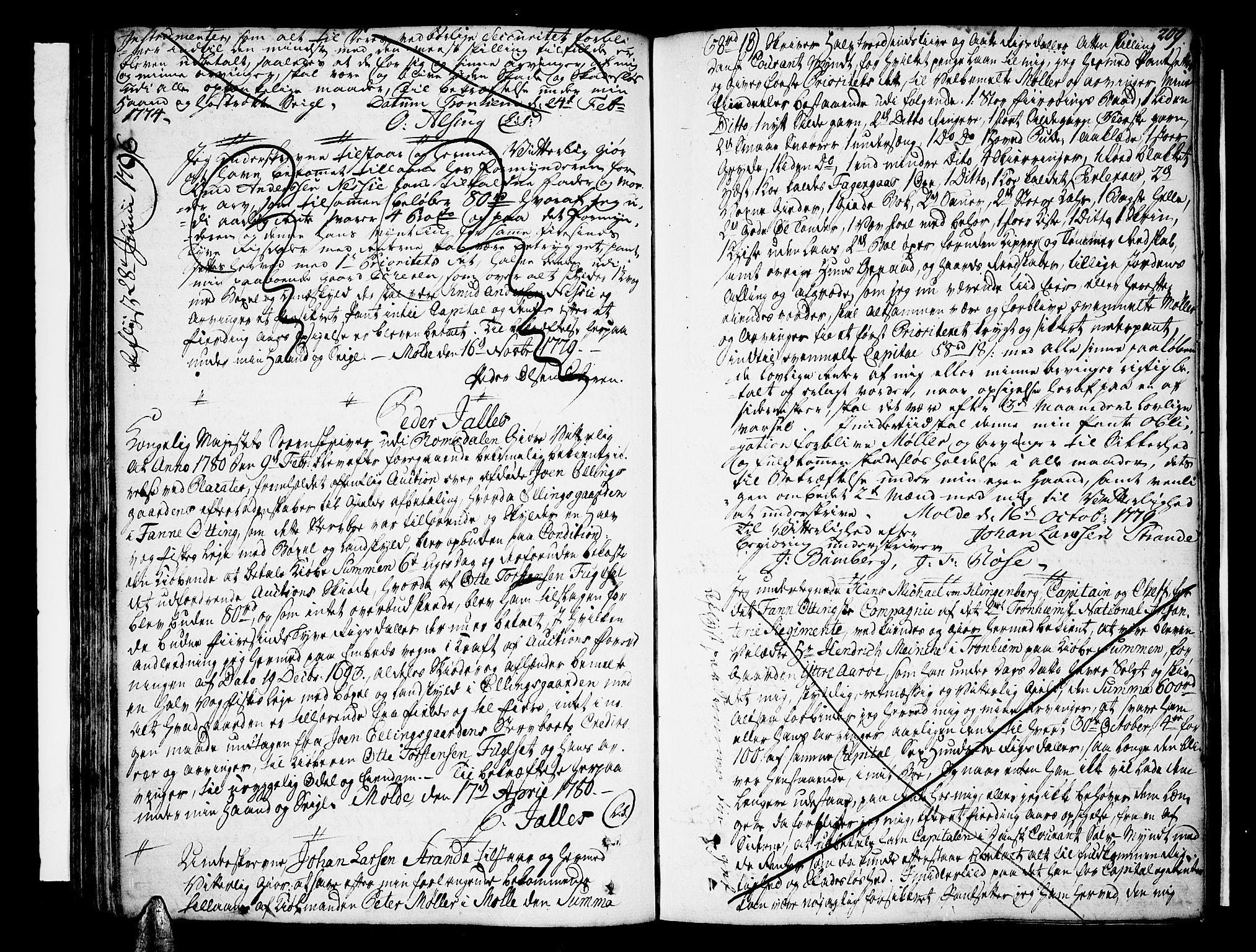 SAT, Romsdal sorenskriveri, 2/2C/L0004: Pantebok nr. 4, 1769-1790, s. 209