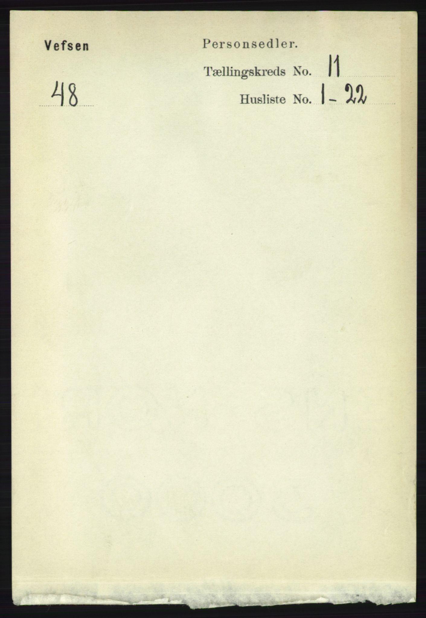 RA, Folketelling 1891 for 1824 Vefsn herred, 1891, s. 5663