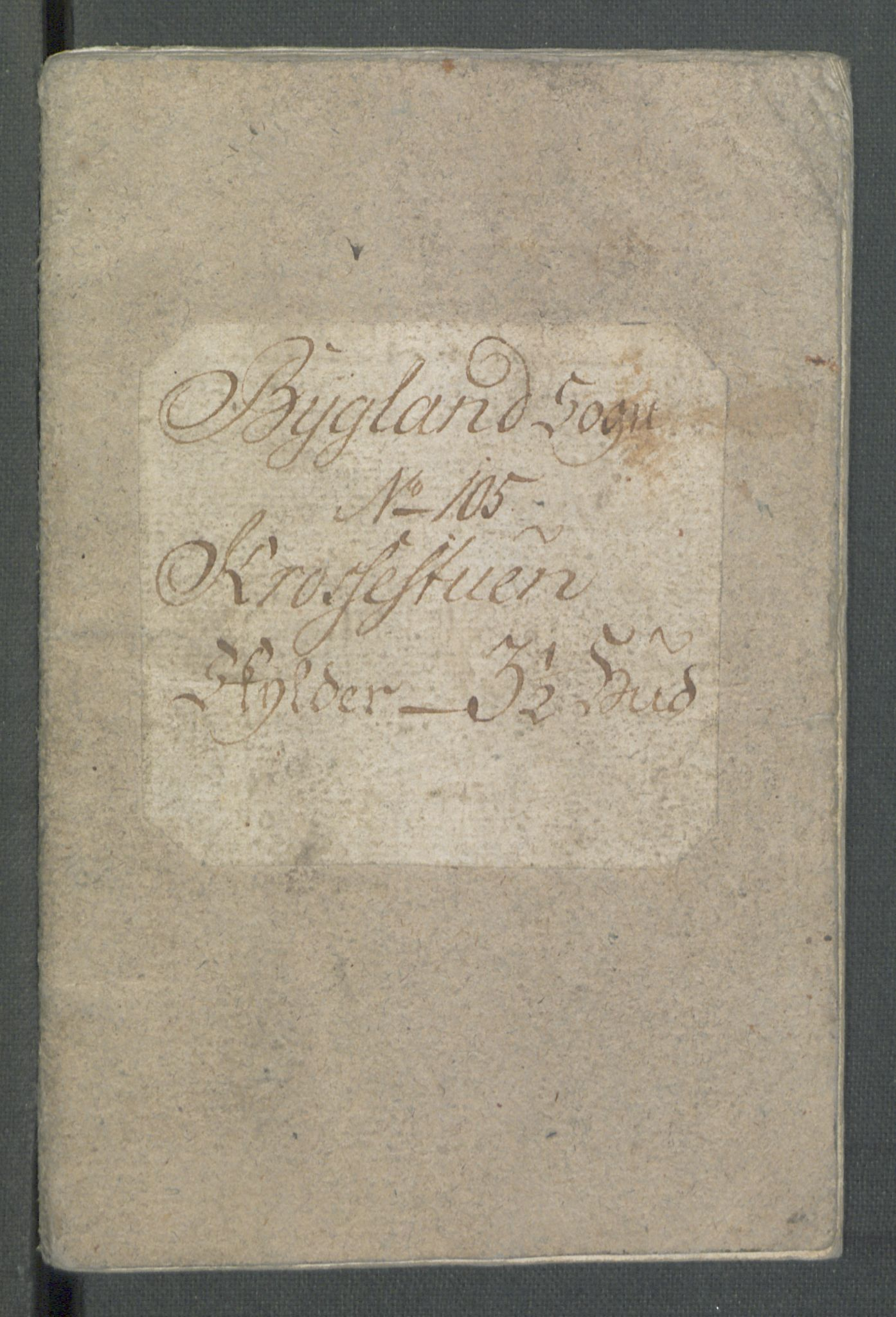 RA, Rentekammeret inntil 1814, Realistisk ordnet avdeling, Od/L0001: Oppløp, 1786-1769, s. 303