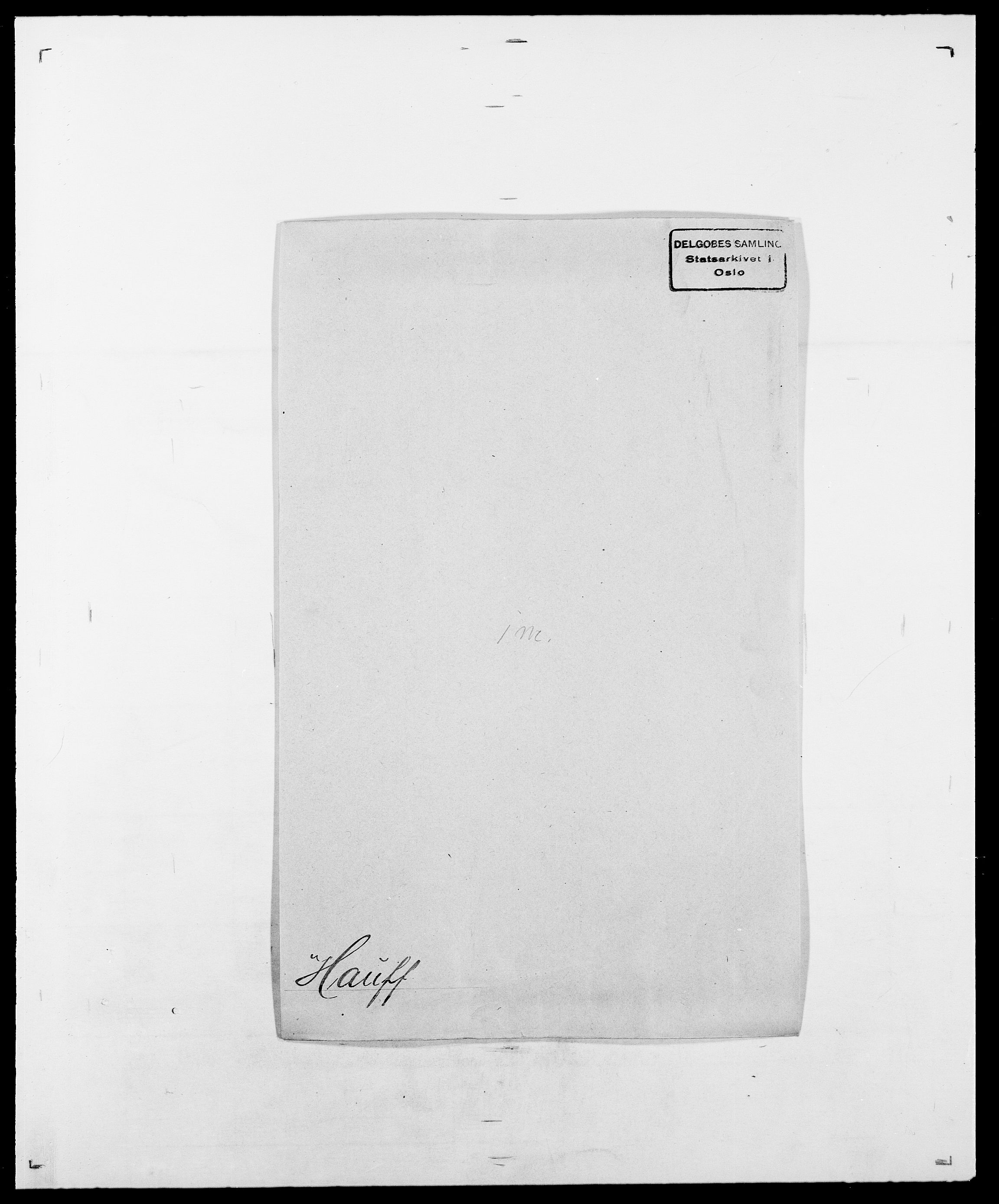 SAO, Delgobe, Charles Antoine - samling, D/Da/L0016: Hamborg - Hektoen, s. 583