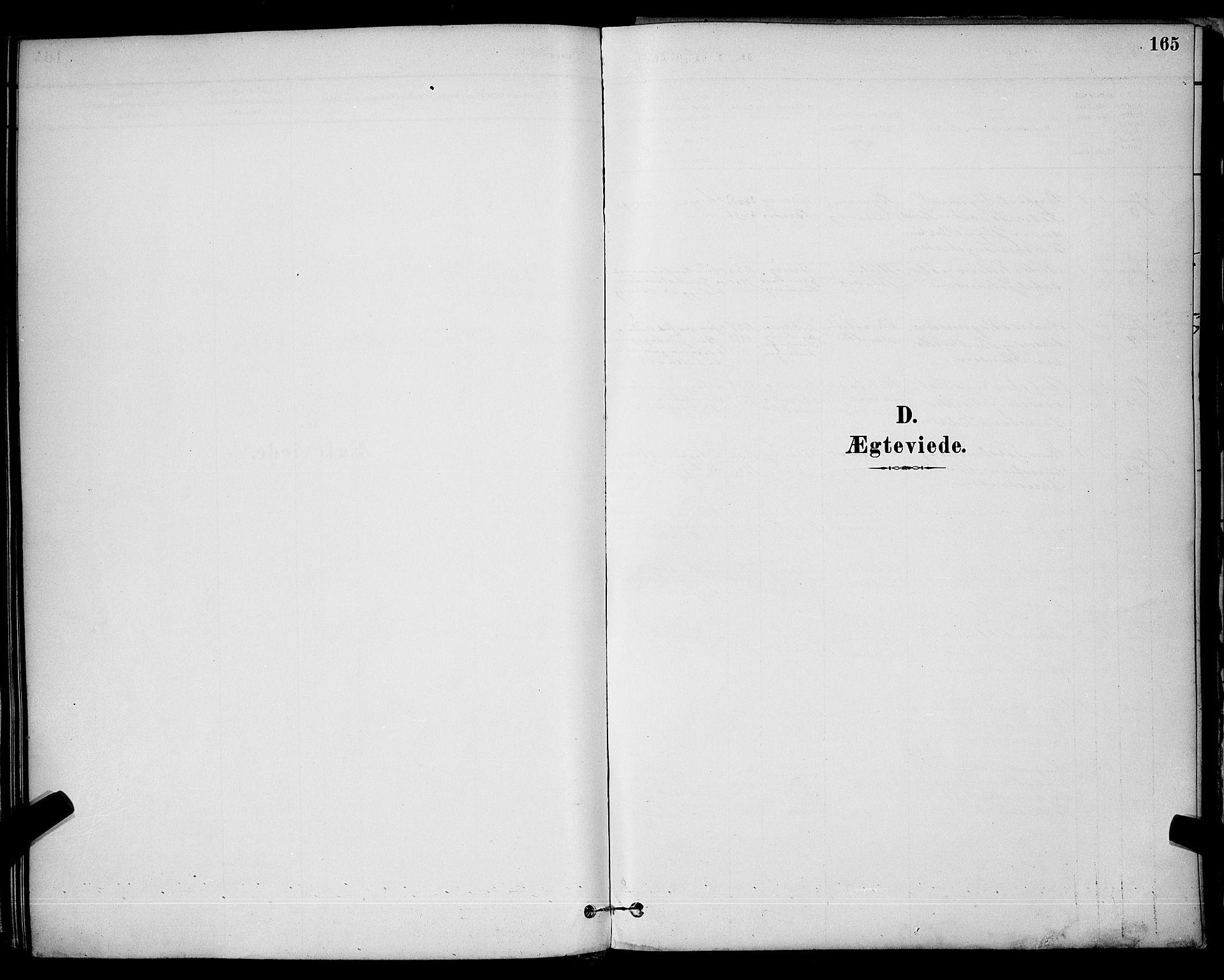 SAKO, Brevik kirkebøker, G/Ga/L0004: Klokkerbok nr. 4, 1882-1900, s. 165