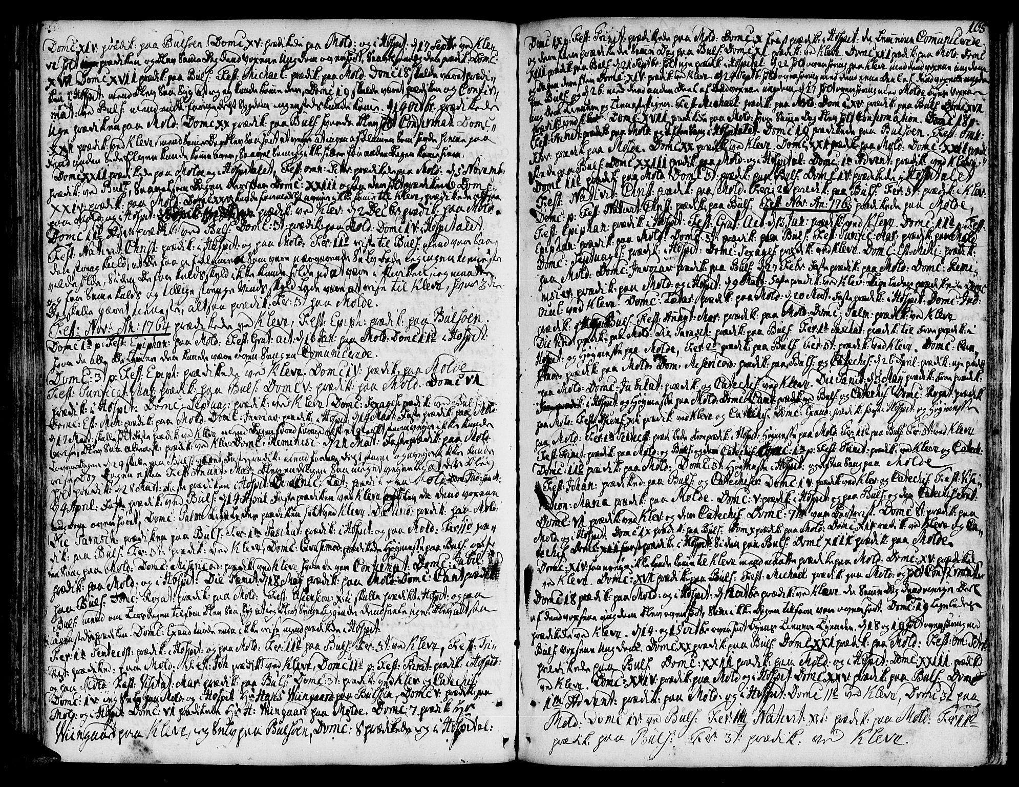 SAT, Ministerialprotokoller, klokkerbøker og fødselsregistre - Møre og Romsdal, 555/L0648: Ministerialbok nr. 555A01, 1759-1793, s. 165