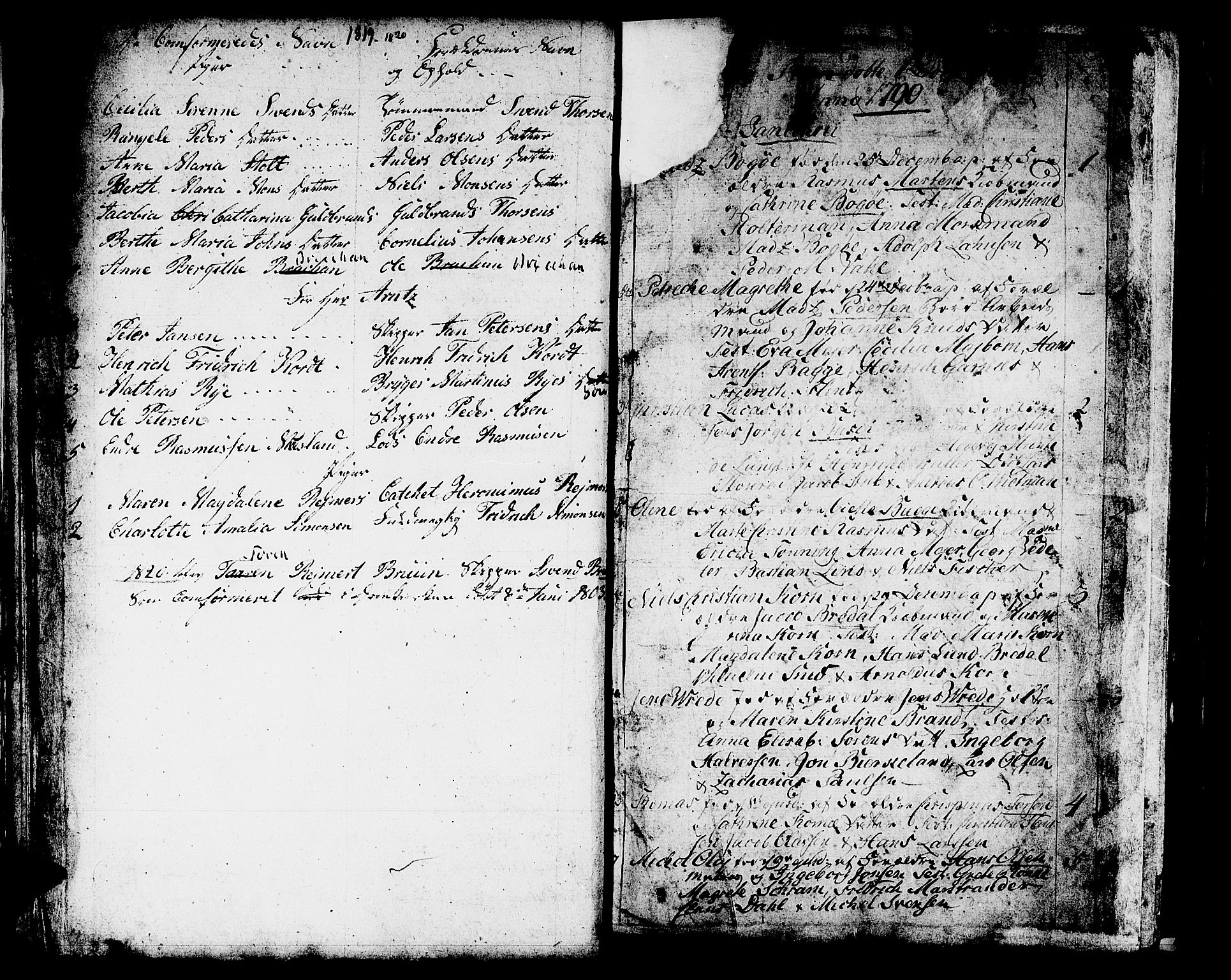 SAB, Domkirken Sokneprestembete, H/Haa/L0004: Ministerialbok nr. A 4, 1763-1820
