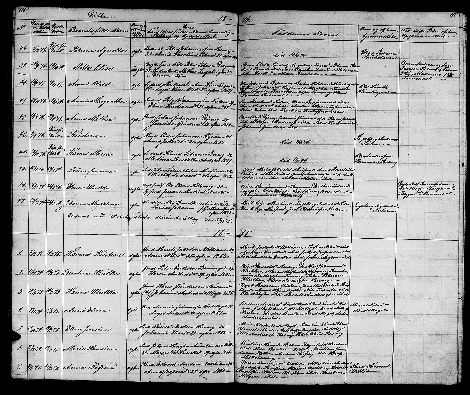 SAT, Ministerialprotokoller, klokkerbøker og fødselsregistre - Sør-Trøndelag, 640/L0583: Klokkerbok nr. 640C01, 1866-1877, s. 116-117