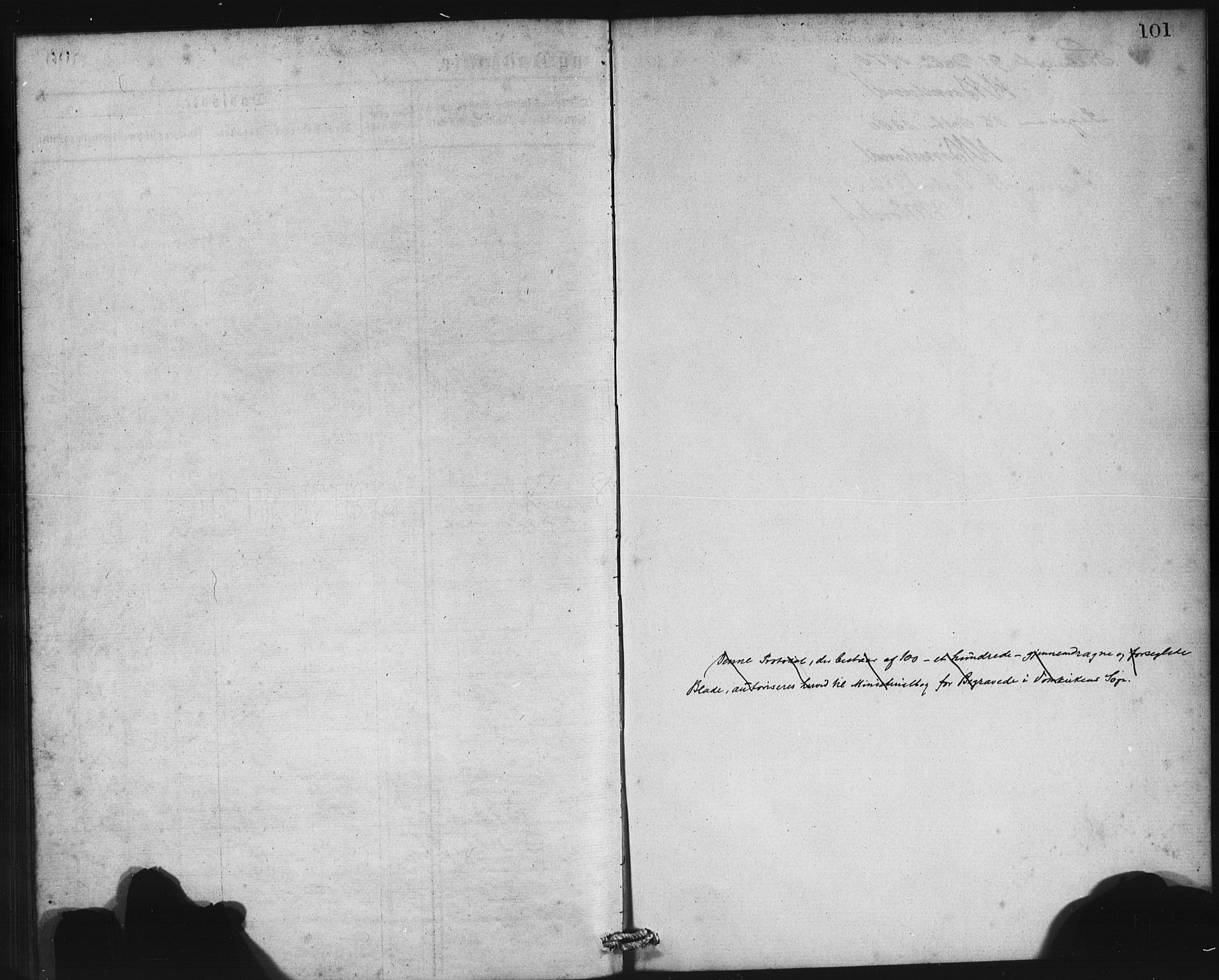 SAB, Domkirken Sokneprestembete, H/Haa: Ministerialbok nr. E 4, 1877-1881, s. 101