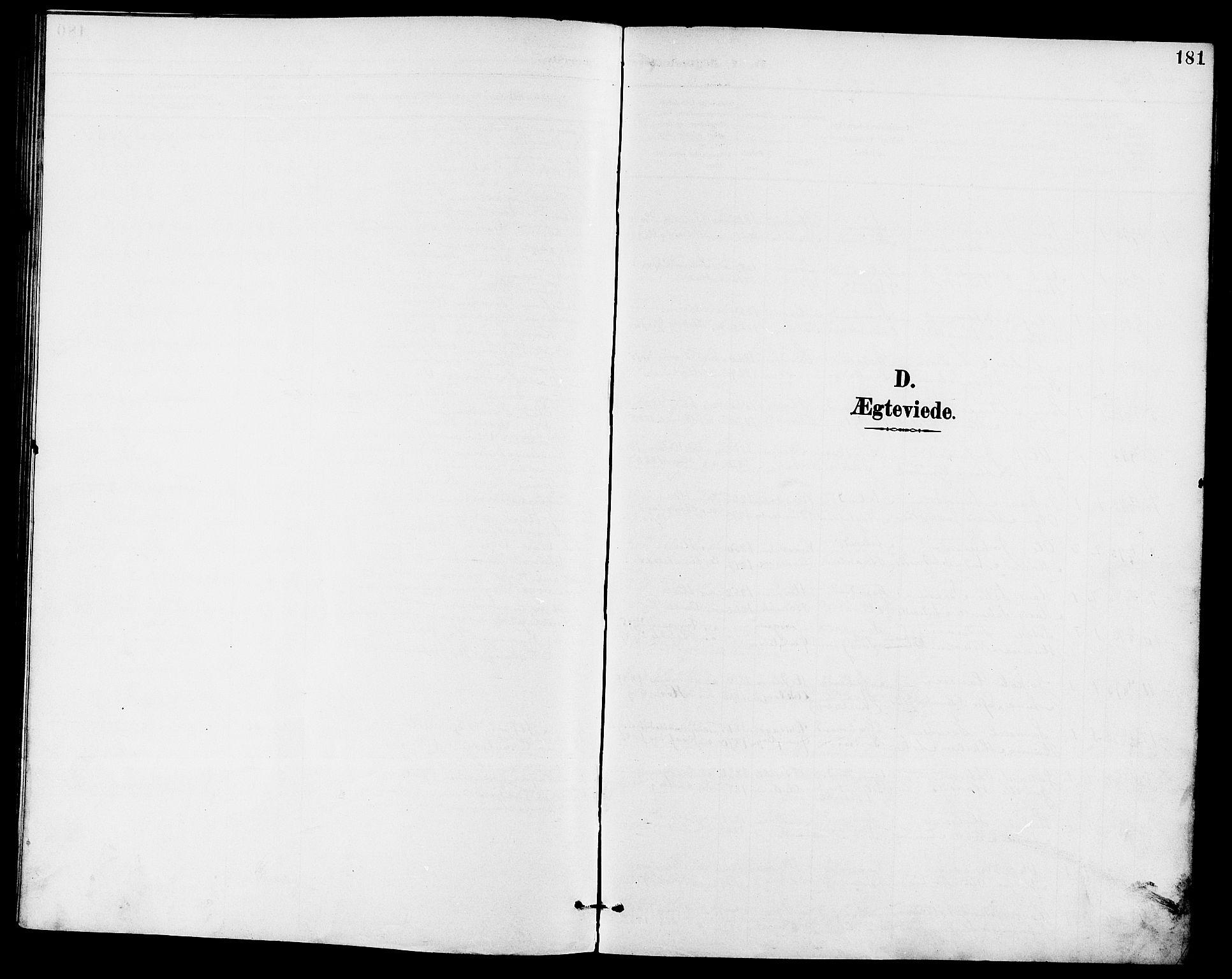 SAKO, Eidanger kirkebøker, G/Ga/L0003: Klokkerbok nr. 3, 1893-1911, s. 181