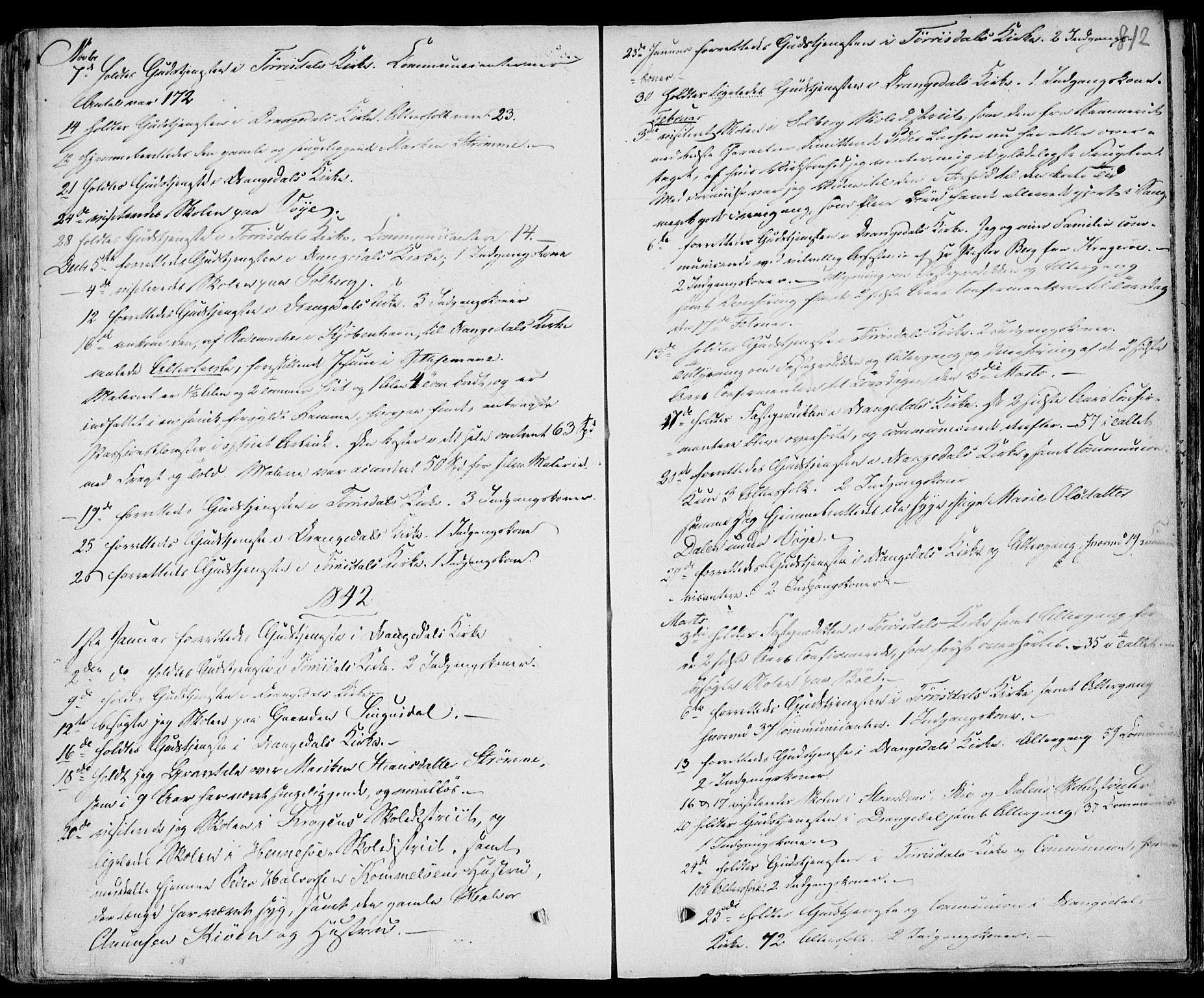SAKO, Drangedal kirkebøker, F/Fa/L0007b: Ministerialbok nr. 7b, 1837-1856, s. 812