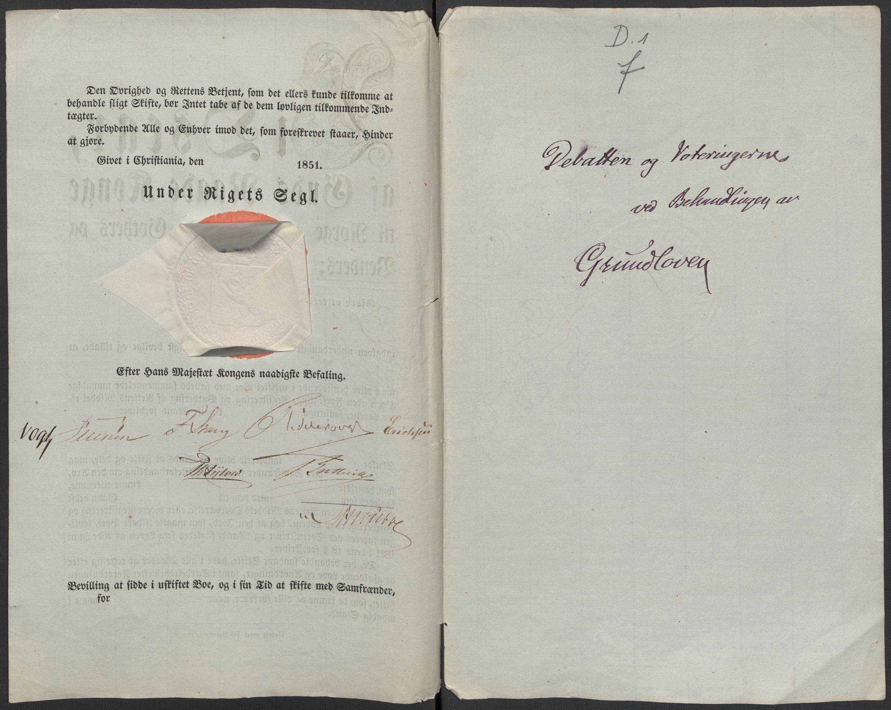 RA, Christie, Wilhelm Frimann Koren, F/L0004, 1814, s. 96