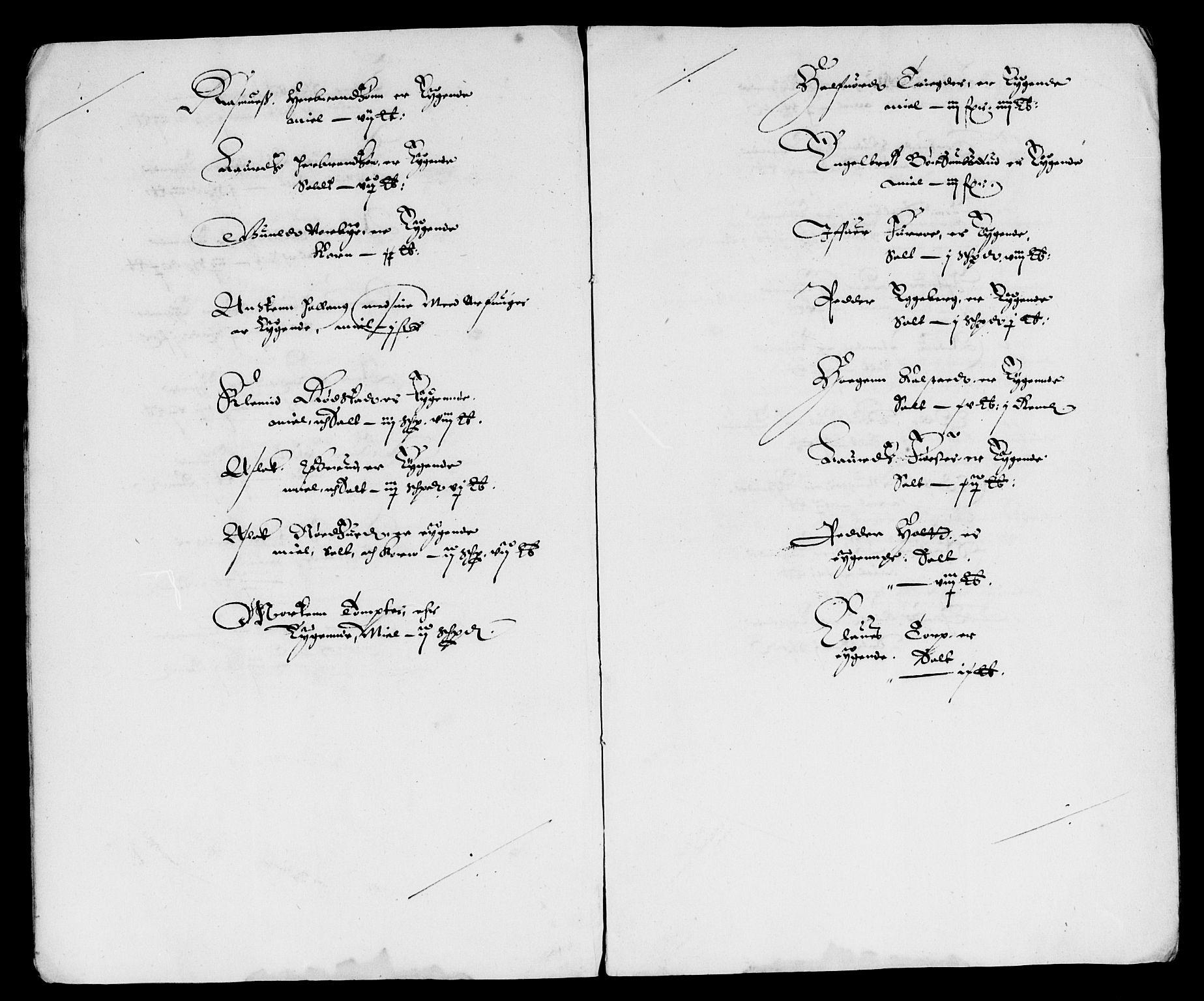 RA, Rentekammeret inntil 1814, Reviderte regnskaper, Lensregnskaper, R/Rb/Rba/L0131: Akershus len, 1636-1637