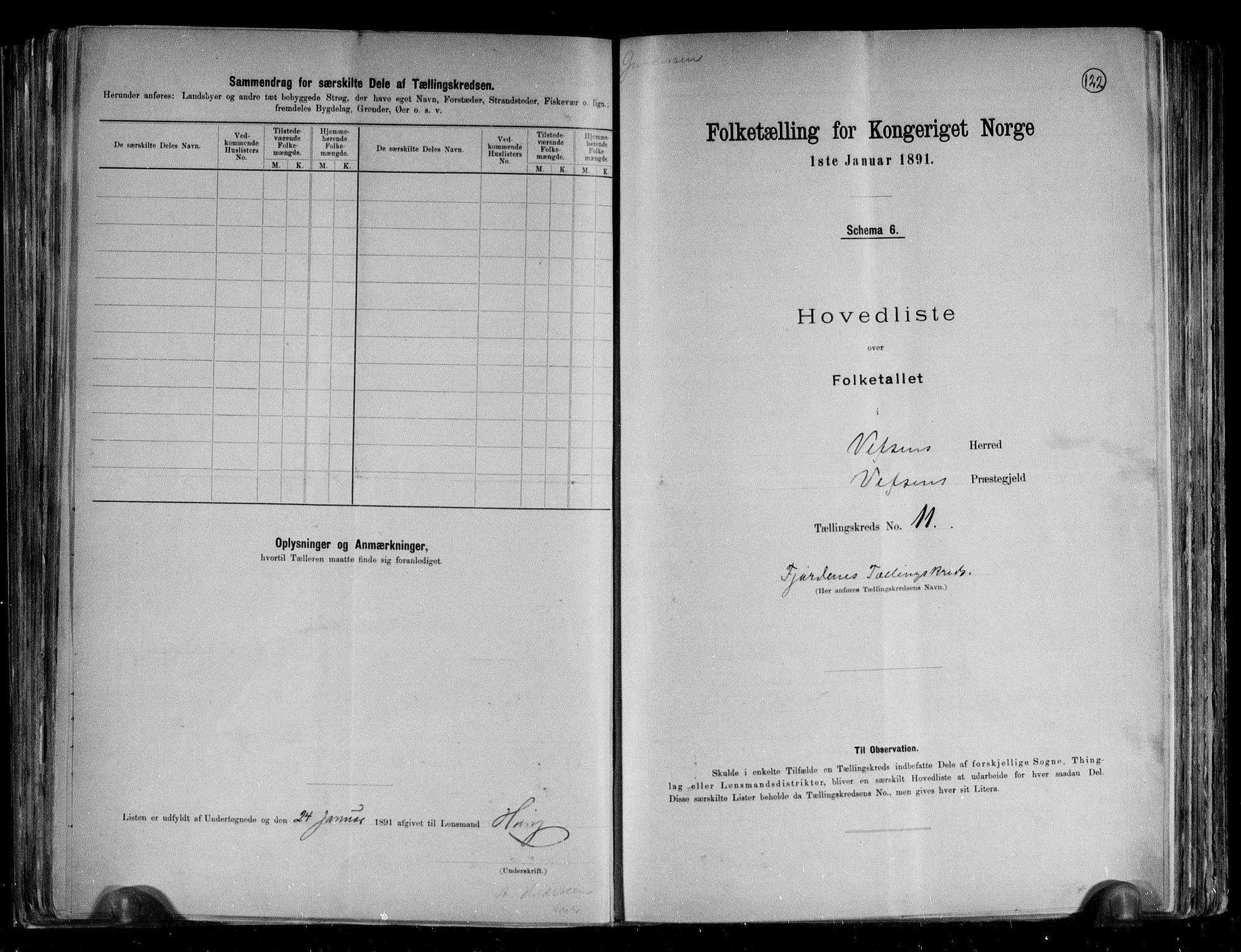 RA, Folketelling 1891 for 1824 Vefsn herred, 1891, s. 27