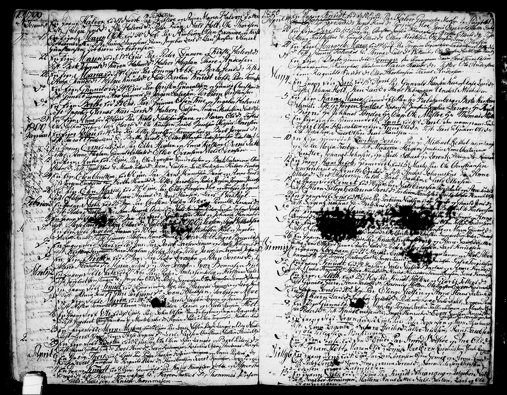 SAKO, Sannidal kirkebøker, F/Fa/L0002: Ministerialbok nr. 2, 1767-1802, s. 161