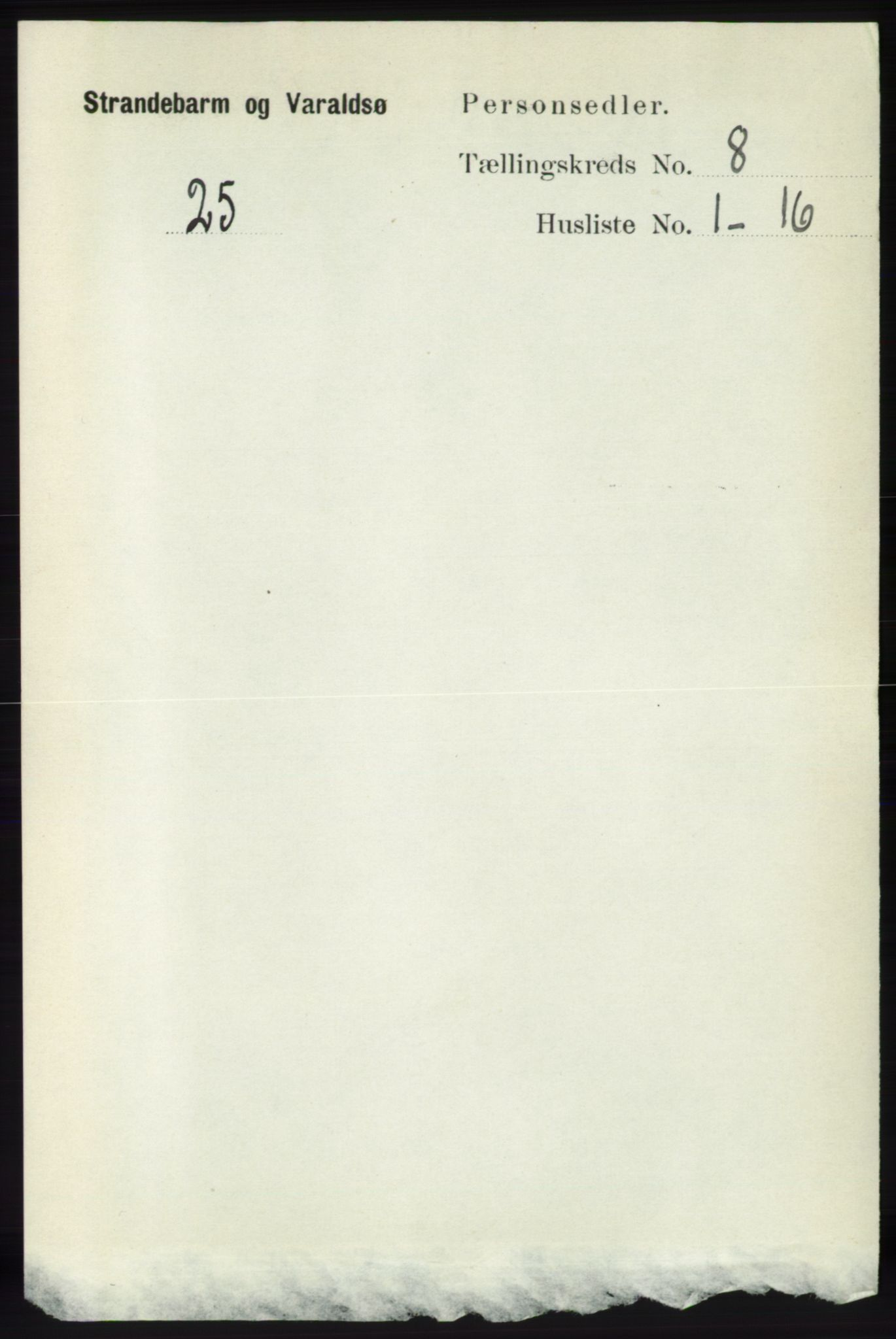 RA, Folketelling 1891 for 1226 Strandebarm og Varaldsøy herred, 1891, s. 2951