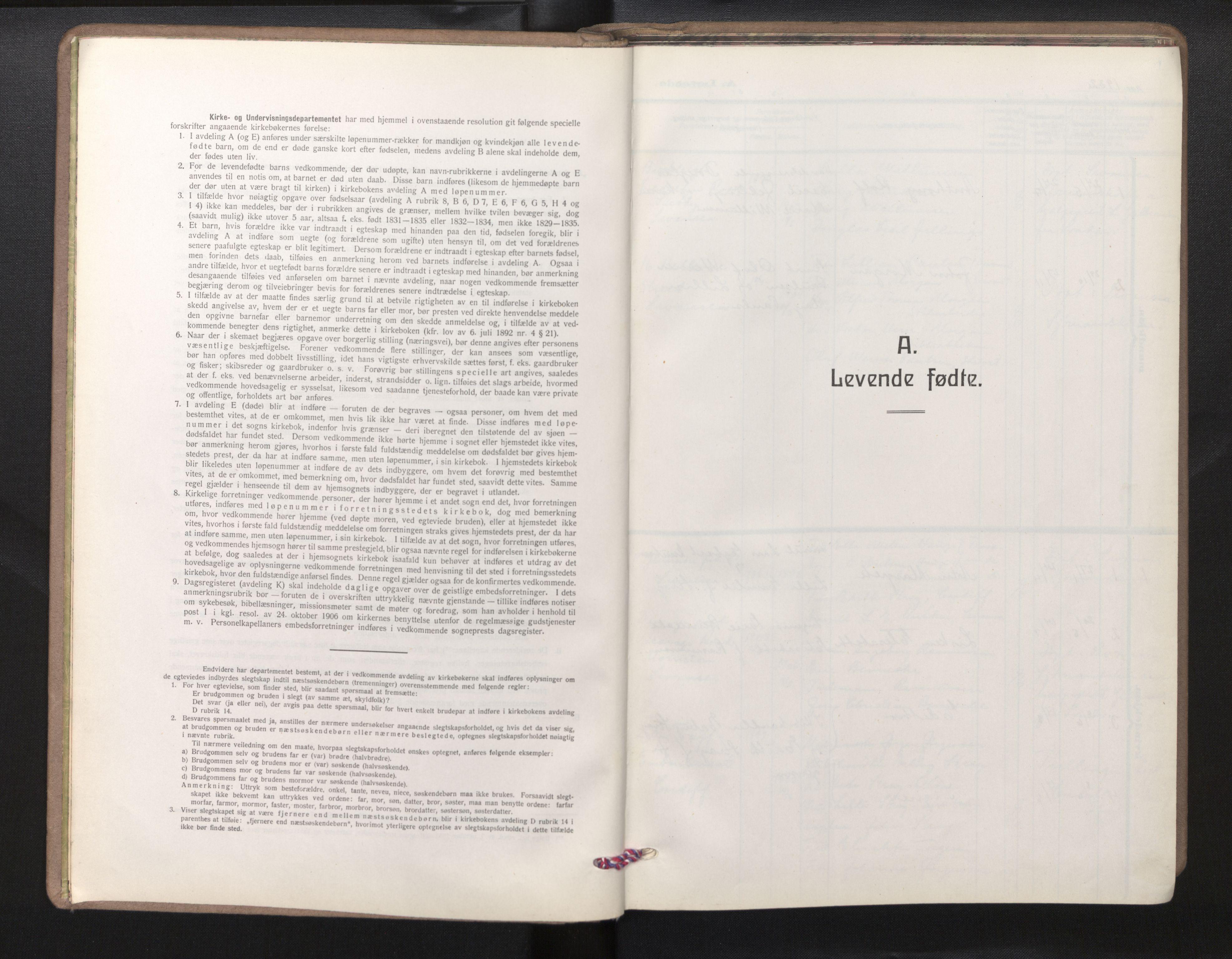 SAB, Privatarkiv 102 - Den norske sjømannsmisjon i utlandet/Bristolhavnene(Cardiff-Swansea), H/Ha/Haa/L0003: Ministerialbok nr. A 3, 1932-1966
