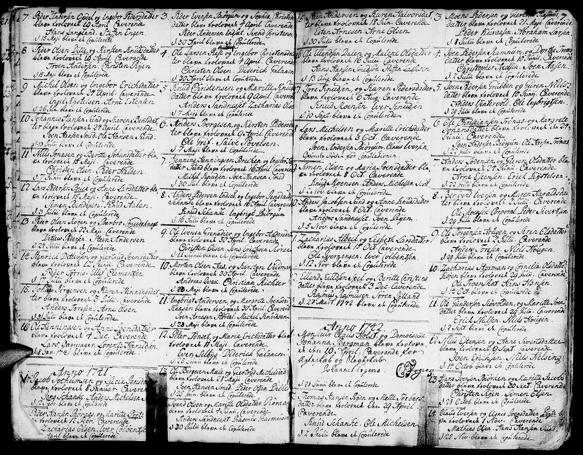 SAT, Ministerialprotokoller, klokkerbøker og fødselsregistre - Sør-Trøndelag, 681/L0925: Ministerialbok nr. 681A03, 1727-1766, s. 7