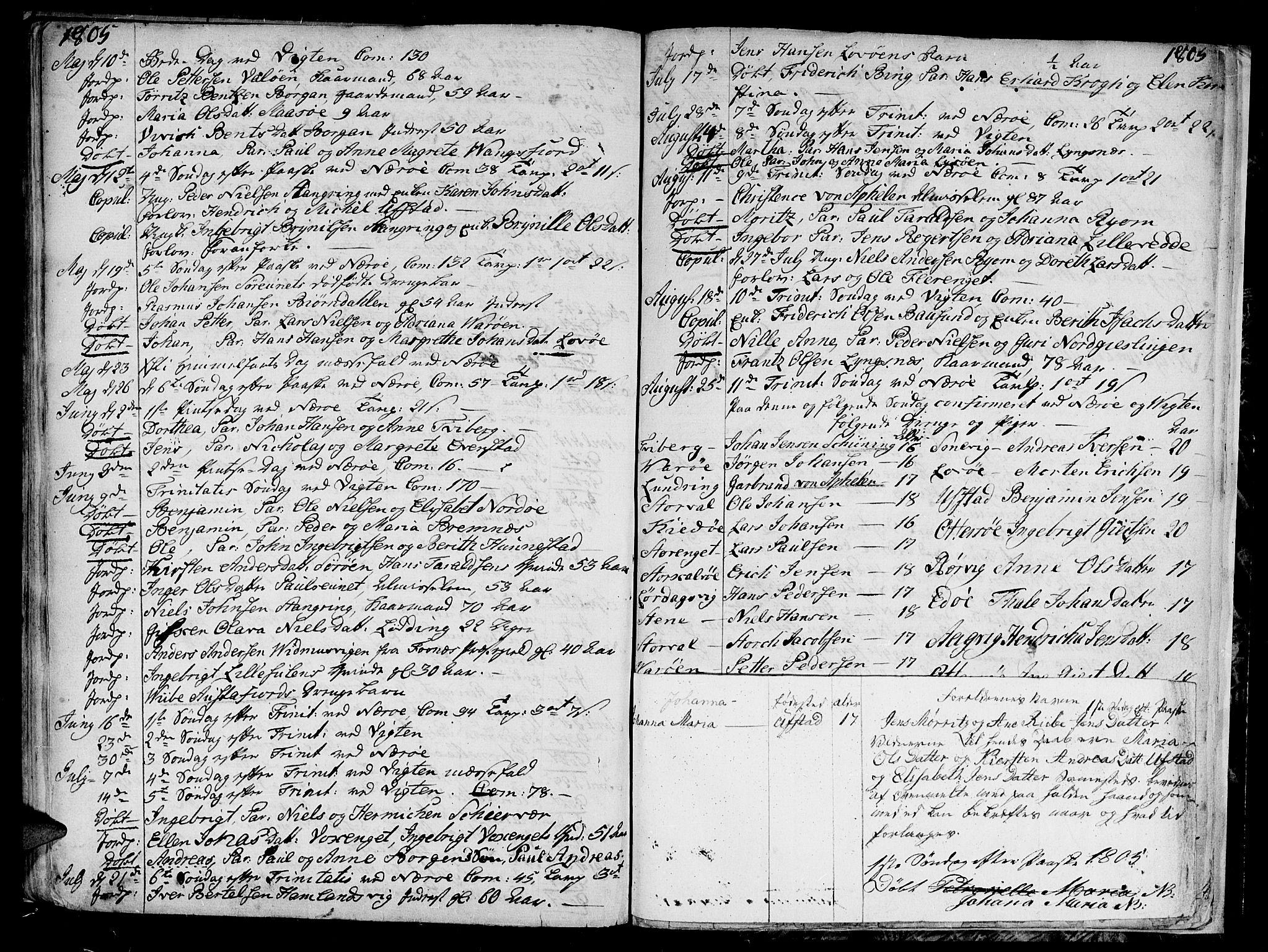 SAT, Ministerialprotokoller, klokkerbøker og fødselsregistre - Nord-Trøndelag, 784/L0666: Ministerialbok nr. 784A02, 1785-1815