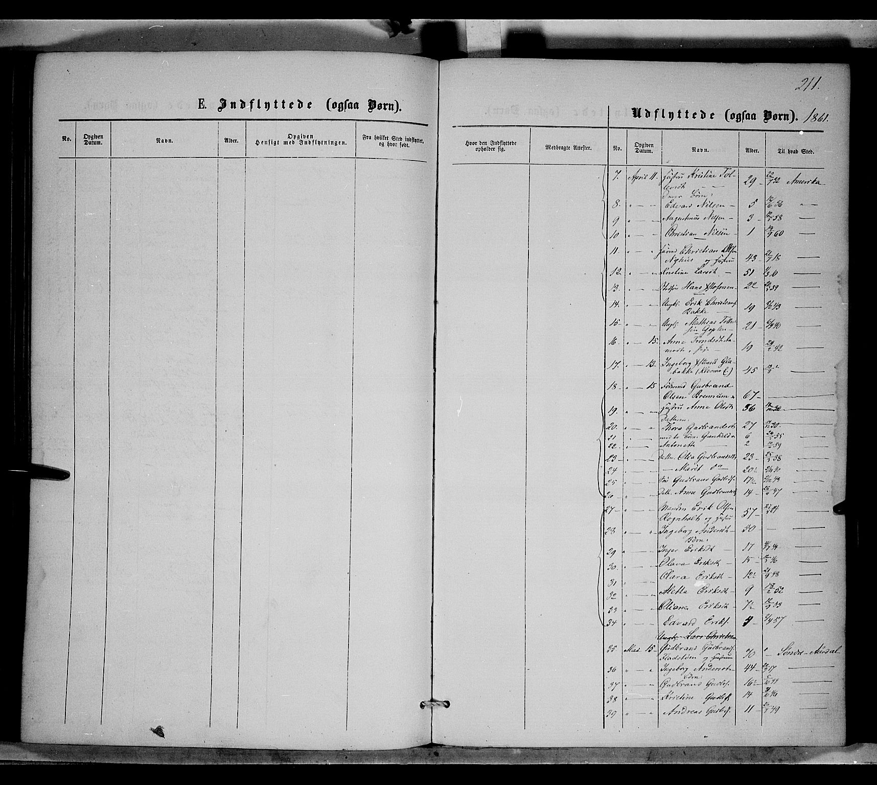 SAH, Nordre Land prestekontor, Ministerialbok nr. 1, 1860-1871, s. 211