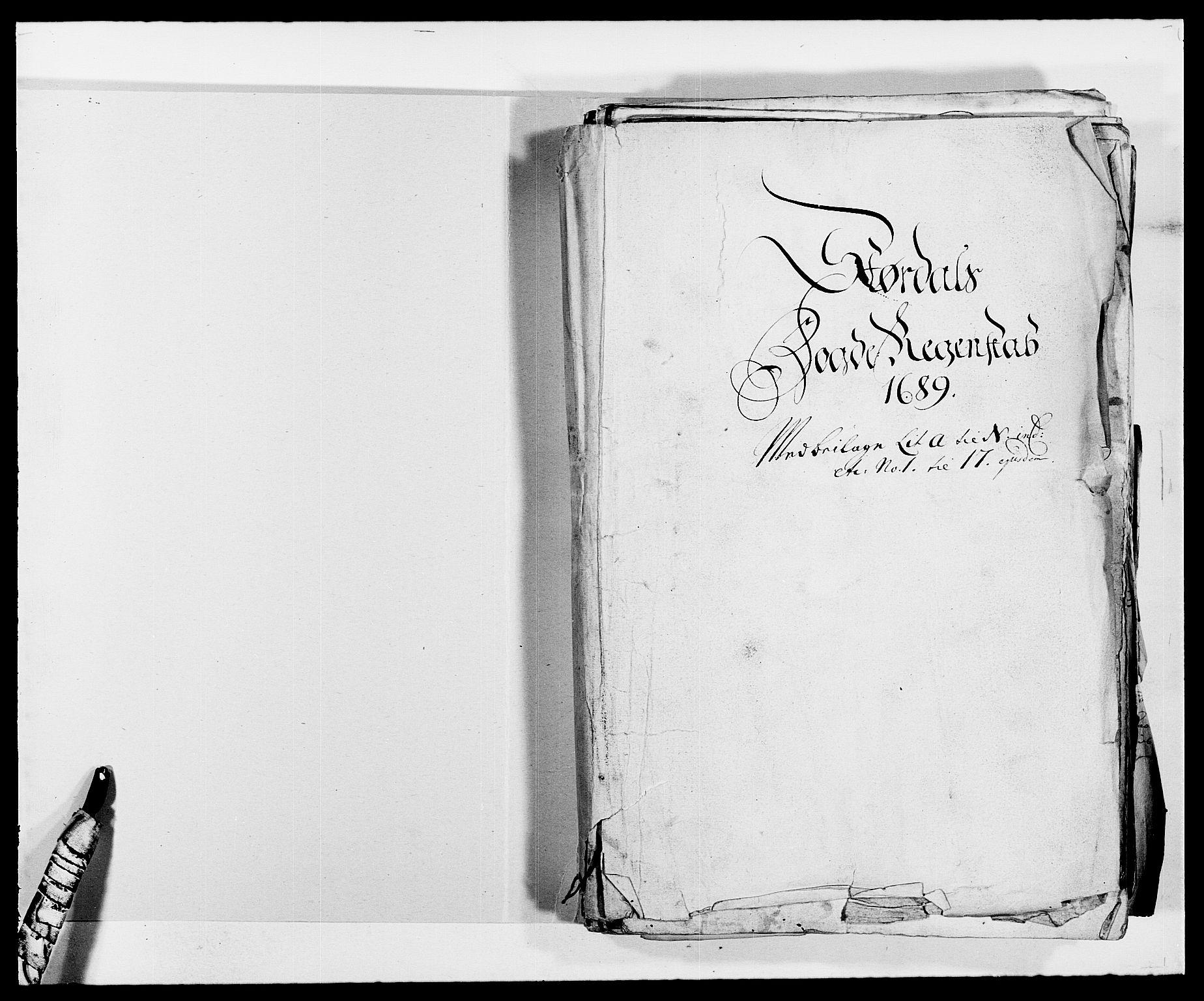 RA, Rentekammeret inntil 1814, Reviderte regnskaper, Fogderegnskap, R62/L4183: Fogderegnskap Stjørdal og Verdal, 1687-1689, s. 300