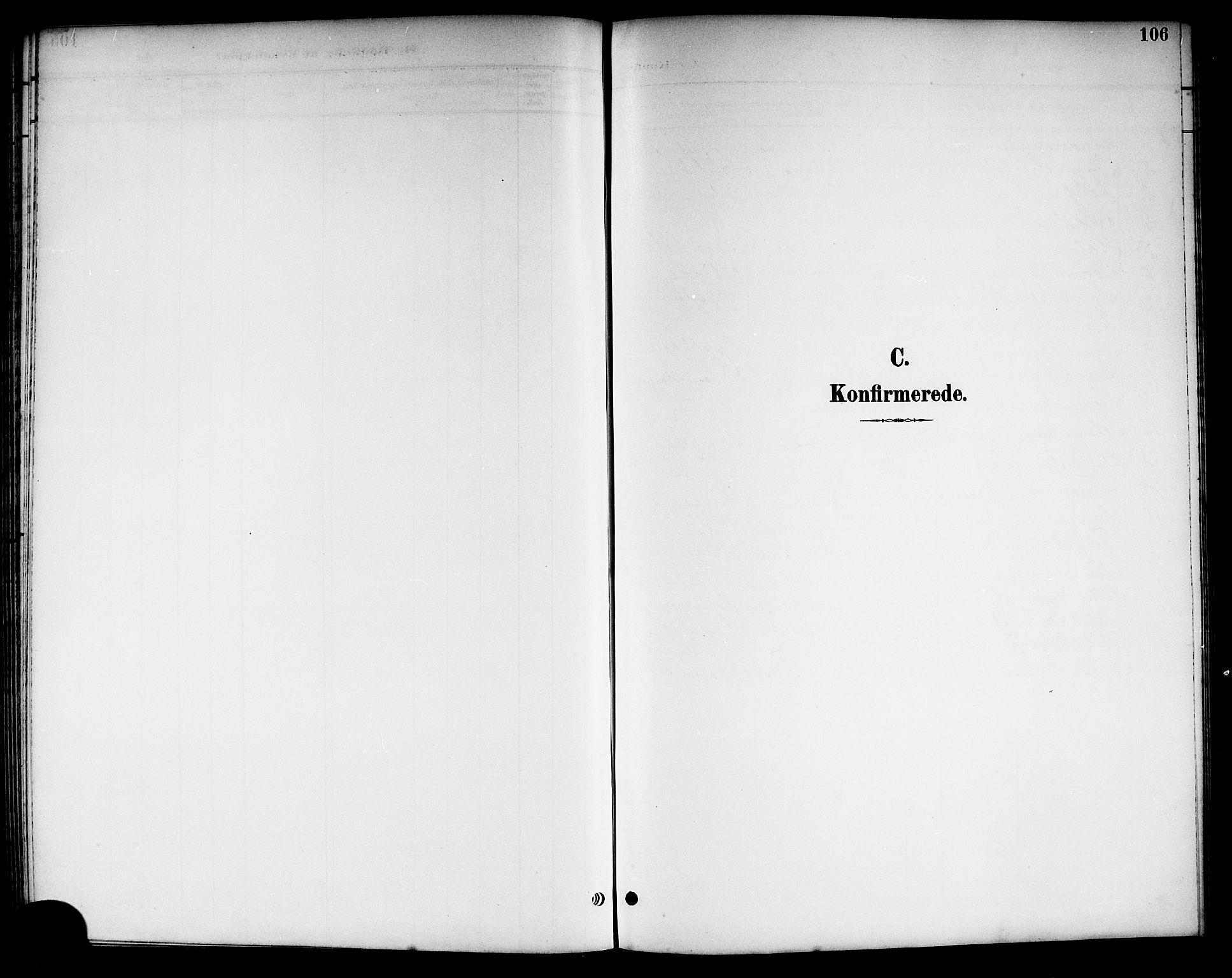 SAKO, Kviteseid kirkebøker, G/Ga/L0002: Klokkerbok nr. I 2, 1893-1918, s. 106