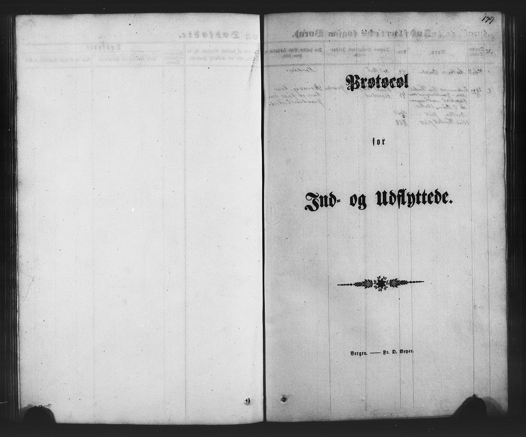 SAB, Finnås sokneprestembete, H/Ha/Hab/Habc/L0001: Klokkerbok nr. C 1, 1860-1887, s. 177