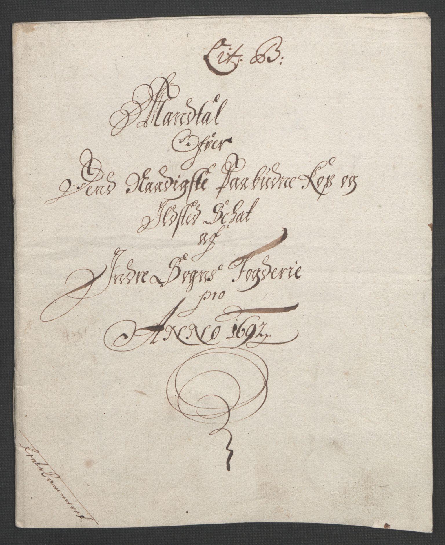 RA, Rentekammeret inntil 1814, Reviderte regnskaper, Fogderegnskap, R52/L3306: Fogderegnskap Sogn, 1691-1692, s. 140