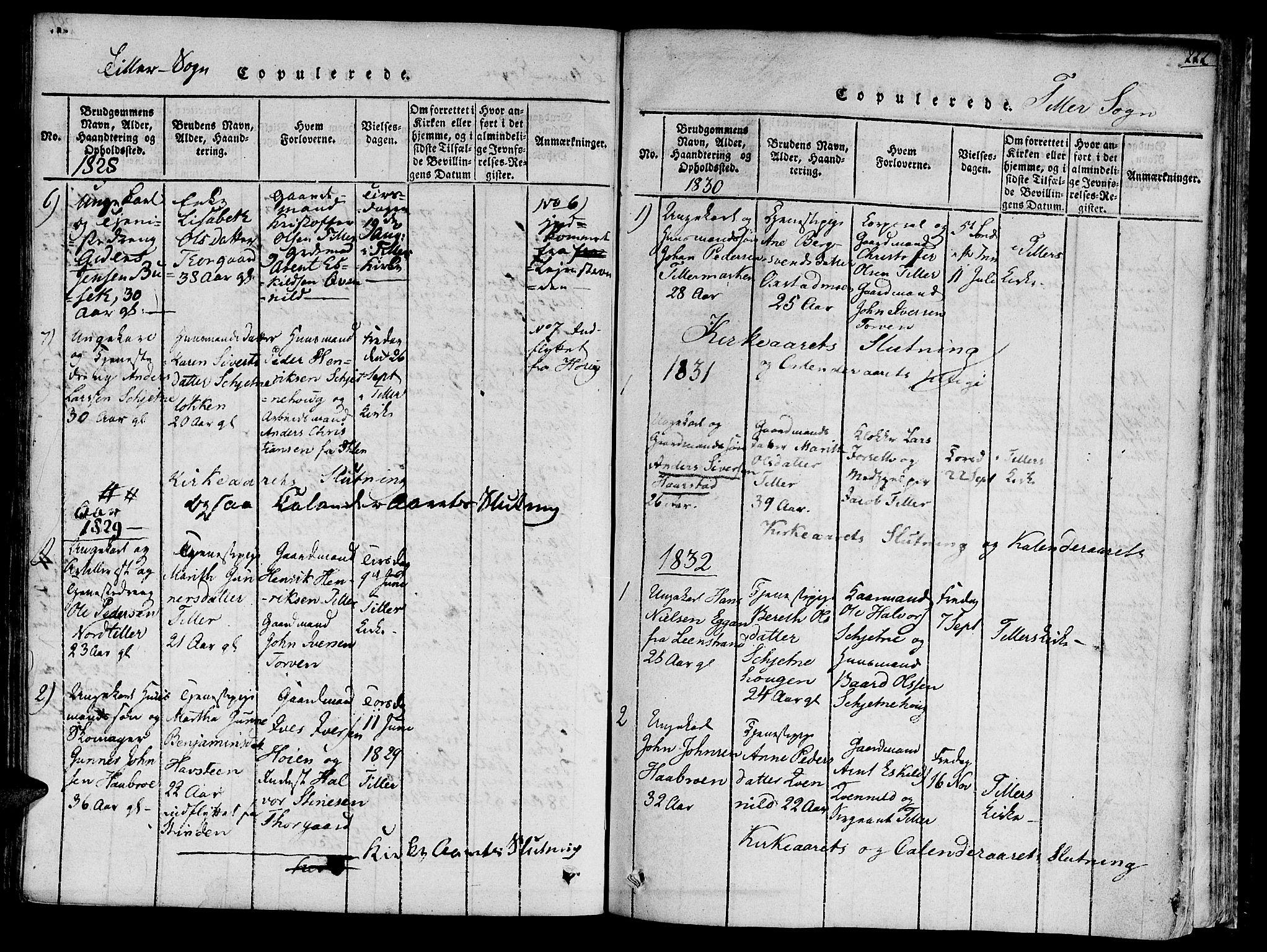 SAT, Ministerialprotokoller, klokkerbøker og fødselsregistre - Sør-Trøndelag, 618/L0440: Ministerialbok nr. 618A04 /2, 1816-1843, s. 222