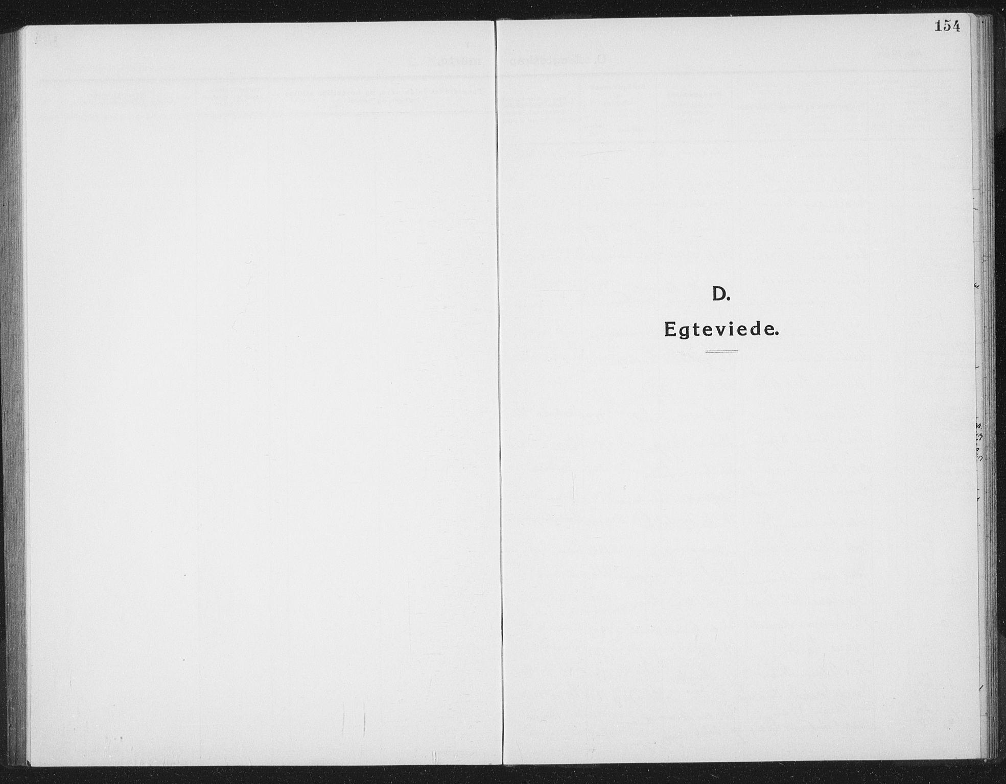 SAT, Ministerialprotokoller, klokkerbøker og fødselsregistre - Sør-Trøndelag, 665/L0778: Klokkerbok nr. 665C03, 1916-1938, s. 154
