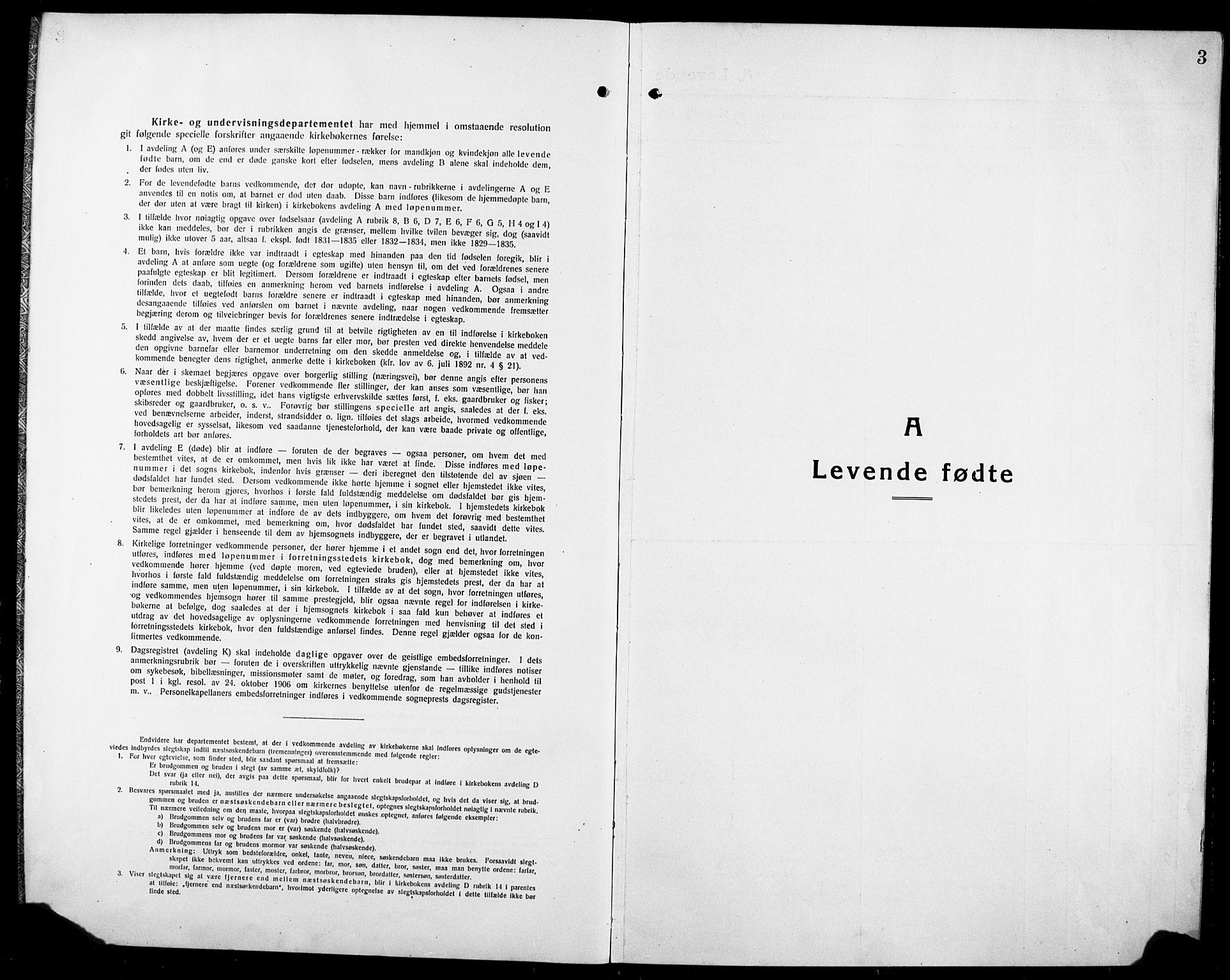 SAT, Ministerialprotokoller, klokkerbøker og fødselsregistre - Sør-Trøndelag, 634/L0543: Klokkerbok nr. 634C05, 1917-1928, s. 3