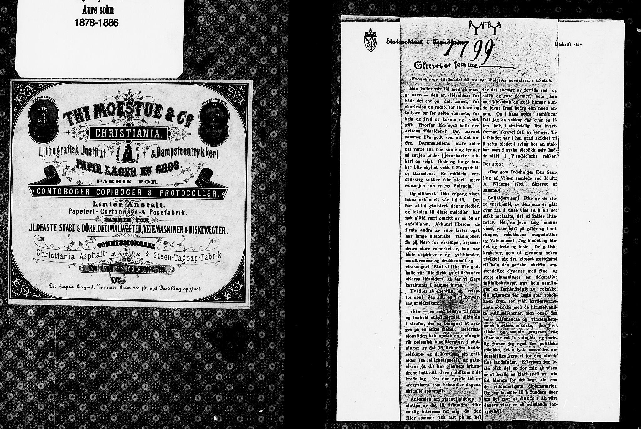 SAT, Ministerialprotokoller, klokkerbøker og fødselsregistre - Møre og Romsdal, 578/L0906: Ministerialbok nr. 578A05, 1878-1886