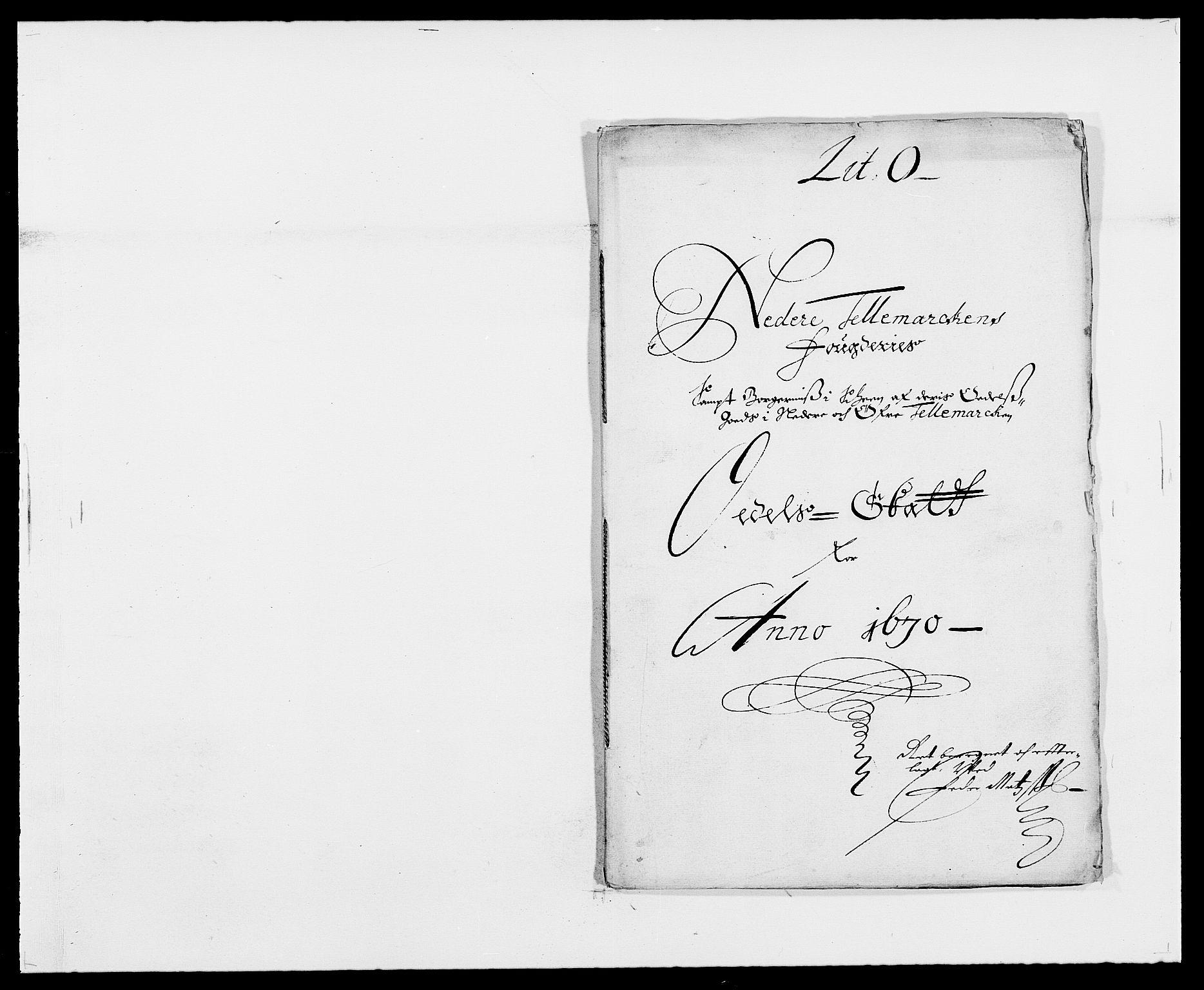 RA, Rentekammeret inntil 1814, Reviderte regnskaper, Fogderegnskap, R35/L2058: Fogderegnskap Øvre og Nedre Telemark, 1668-1670, s. 257