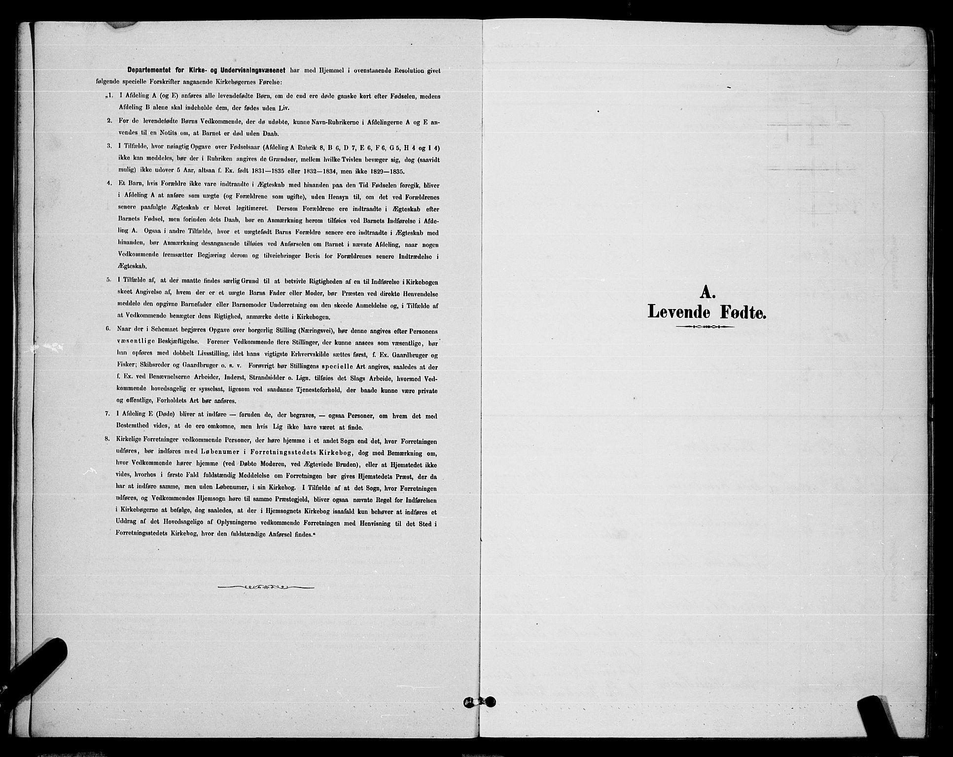 SAT, Ministerialprotokoller, klokkerbøker og fødselsregistre - Nordland, 863/L0914: Klokkerbok nr. 863C04, 1886-1897