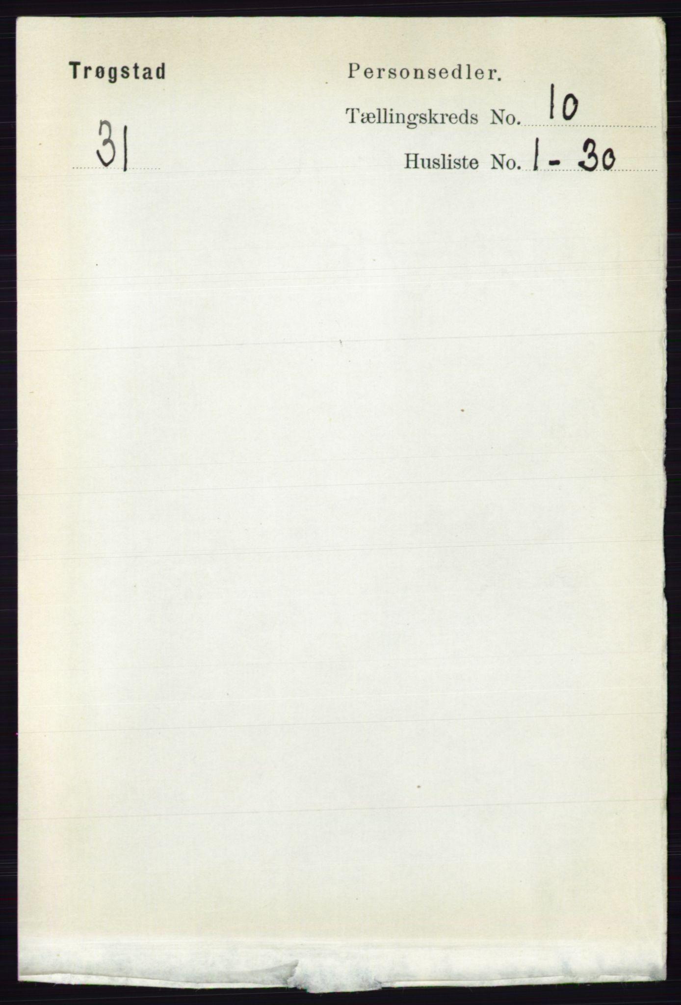 RA, Folketelling 1891 for 0122 Trøgstad herred, 1891, s. 4297