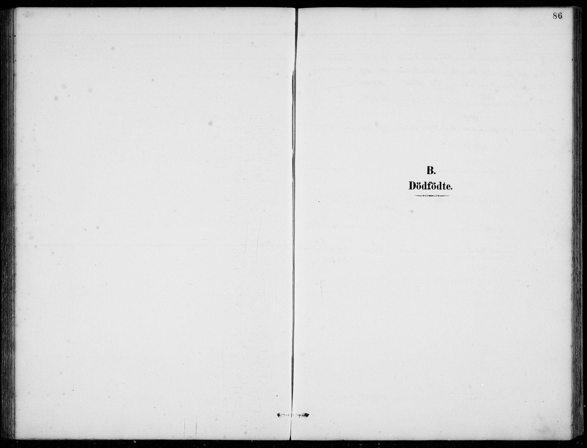 SAB, Jølster Sokneprestembete, Klokkerbok nr. B 2, 1887-1920, s. 86