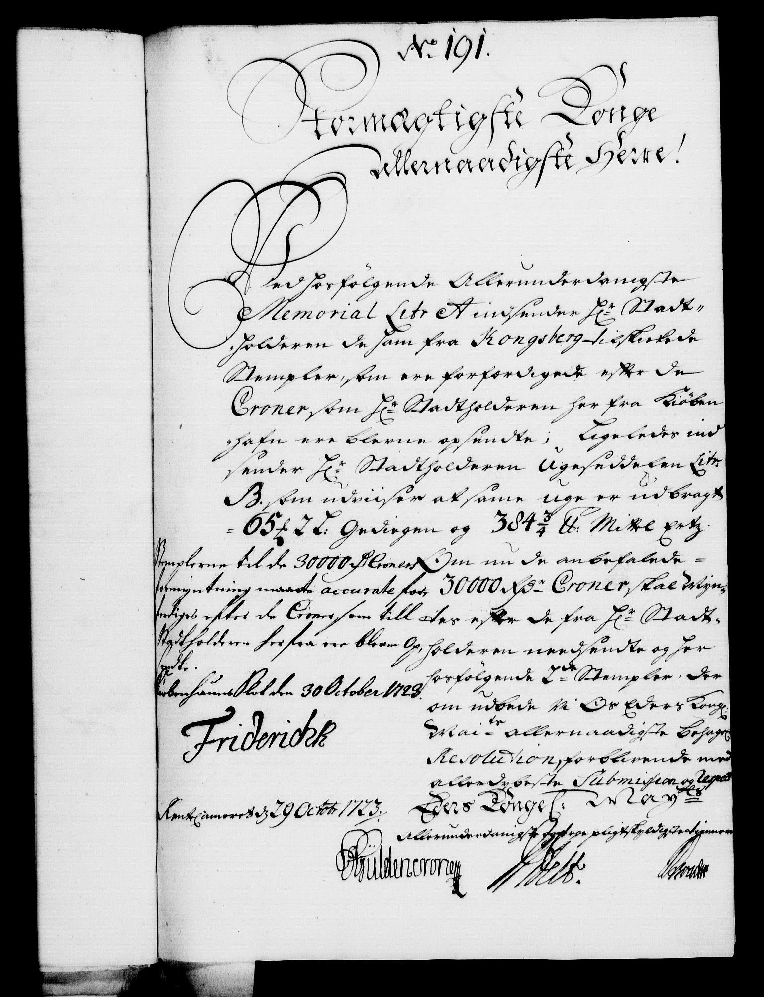 RA, Rentekammeret, Kammerkanselliet, G/Gf/Gfa/L0006: Norsk relasjons- og resolusjonsprotokoll (merket RK 52.6), 1723, s. 1150