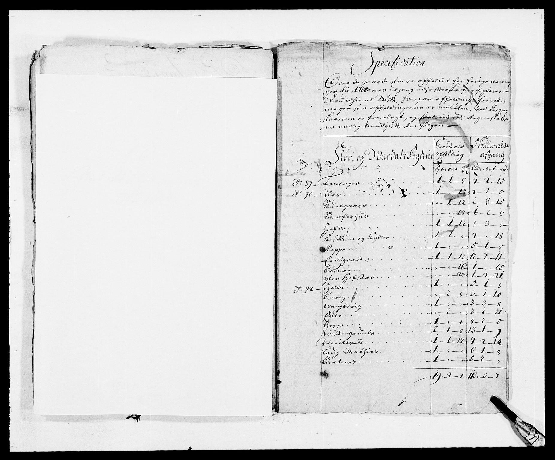 RA, Rentekammeret inntil 1814, Reviderte regnskaper, Fogderegnskap, R62/L4183: Fogderegnskap Stjørdal og Verdal, 1687-1689, s. 295