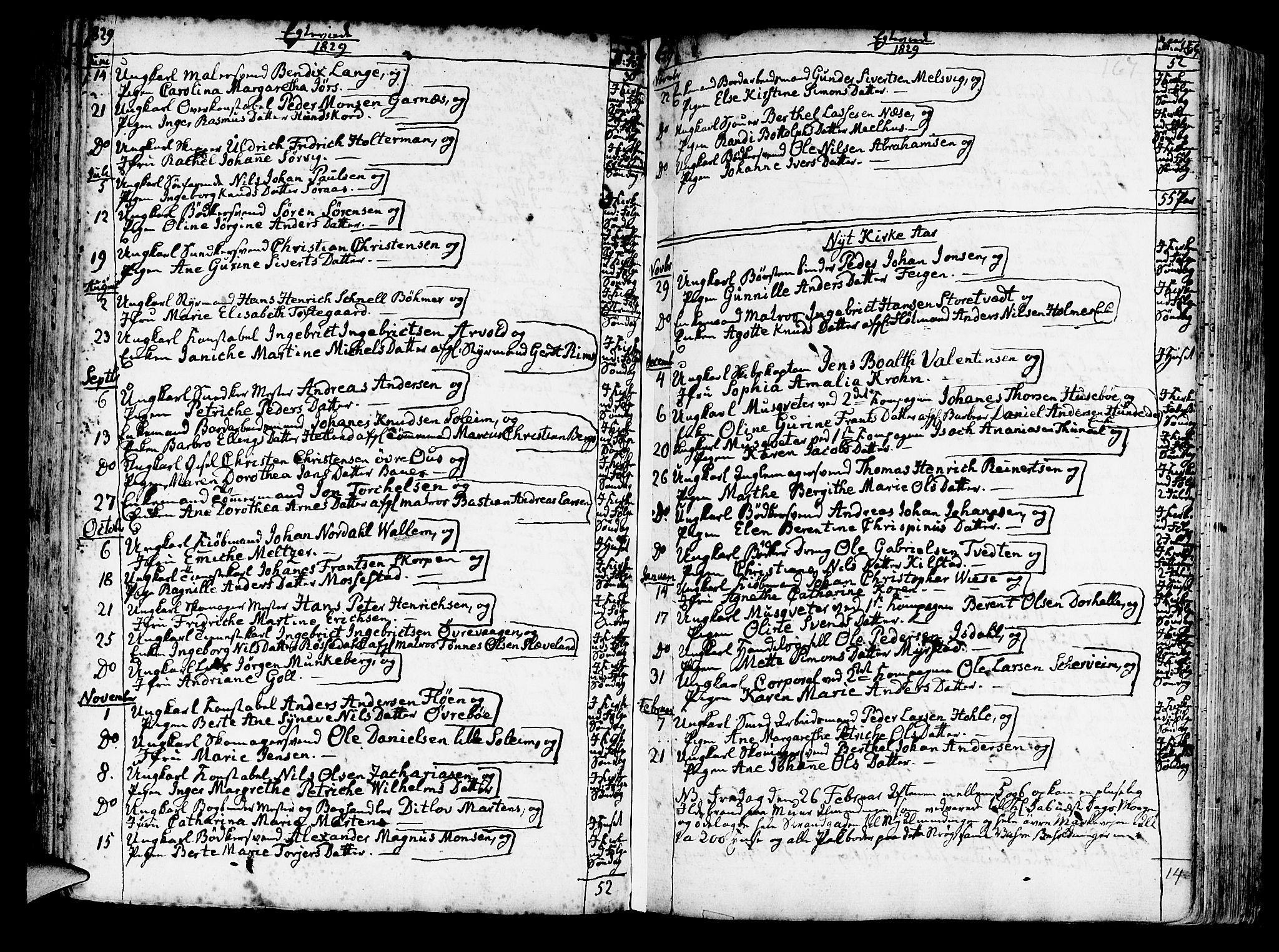 SAB, Korskirken Sokneprestembete, H/Haa/L0009: Ministerialbok nr. A 9, 1743-1861, s. 167