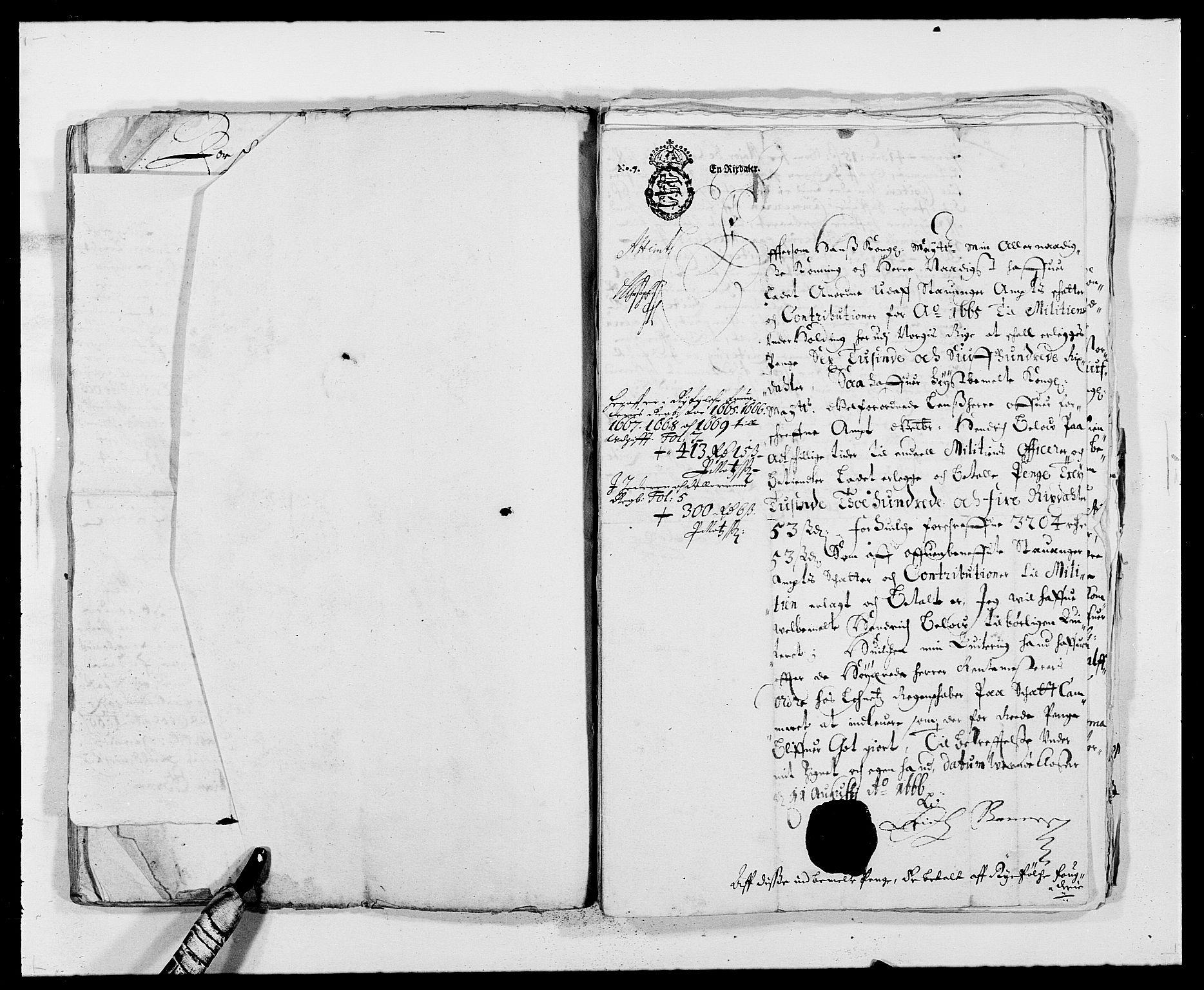 RA, Rentekammeret inntil 1814, Reviderte regnskaper, Fogderegnskap, R47/L2842: Fogderegnskap Ryfylke, 1665-1669, s. 324