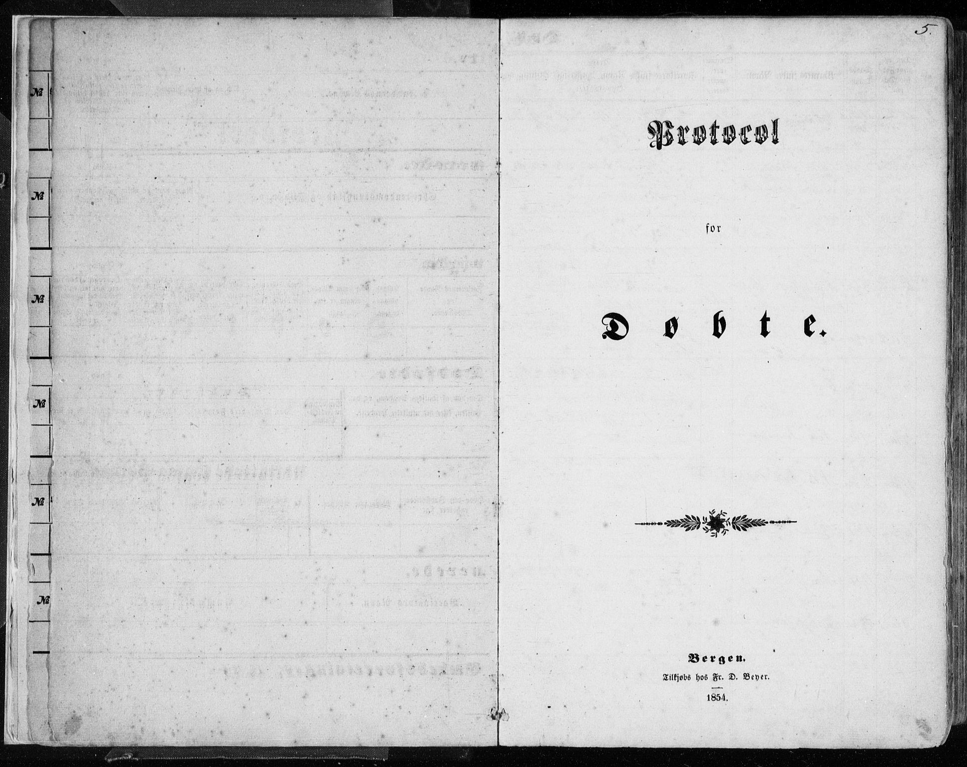 SAB, Hamre sokneprestembete, H/Ha/Haa/Haaa/L0014: Ministerialbok nr. A 14, 1858-1872, s. 5