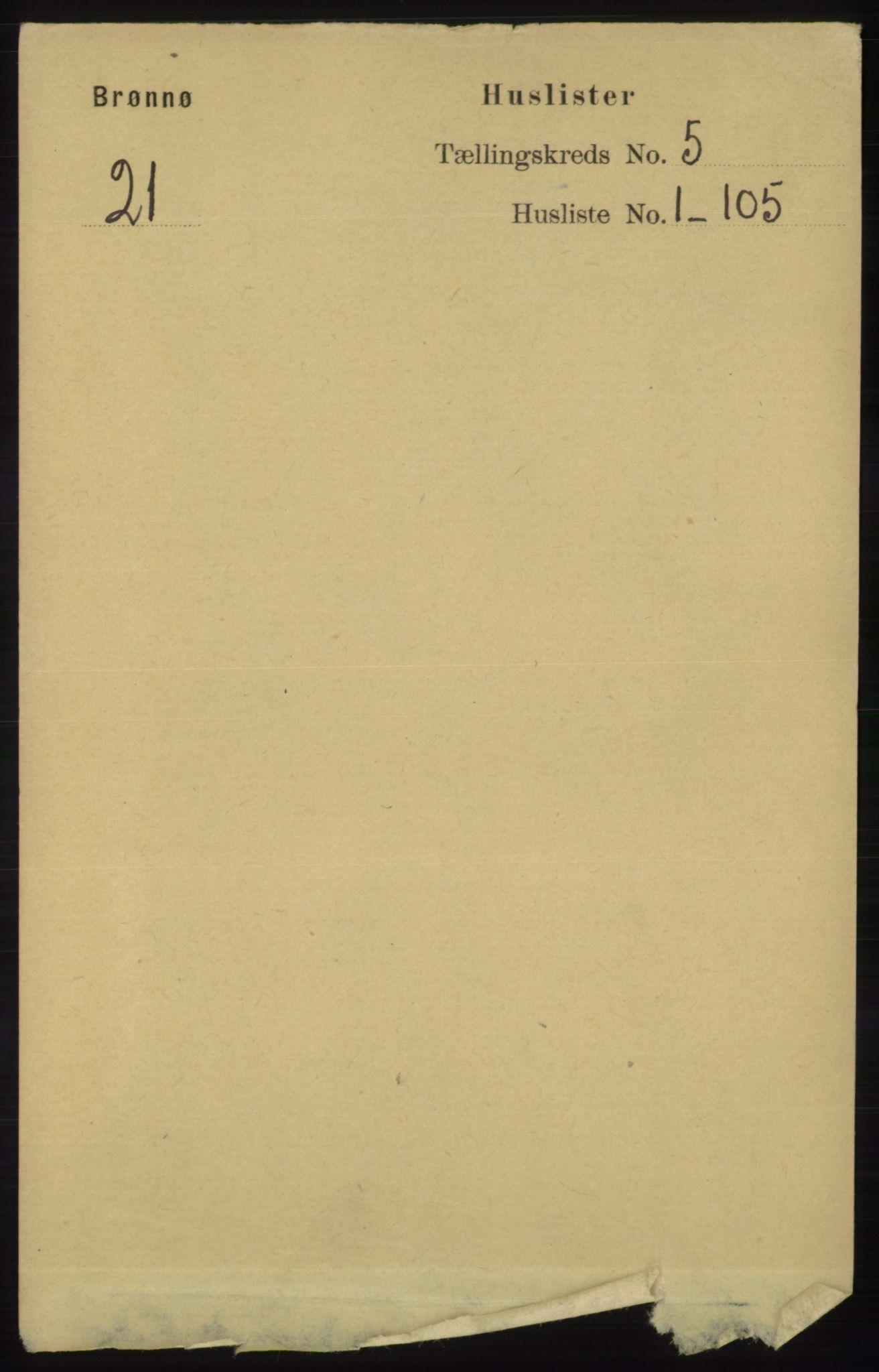 RA, Folketelling 1891 for 1814 Brønnøy herred, 1891, s. 2355