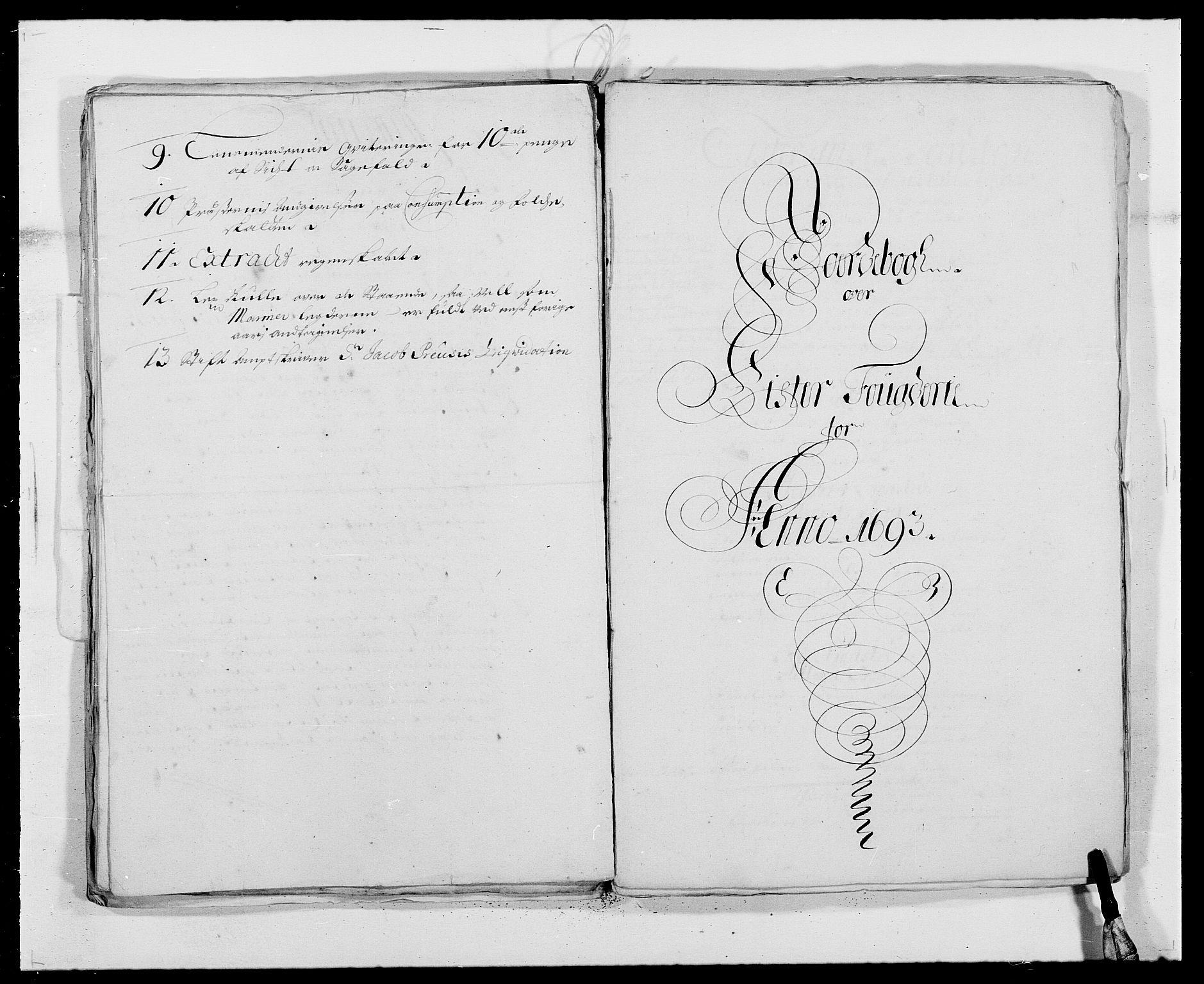 RA, Rentekammeret inntil 1814, Reviderte regnskaper, Fogderegnskap, R41/L2536: Fogderegnskap Lista, 1690-1693, s. 428