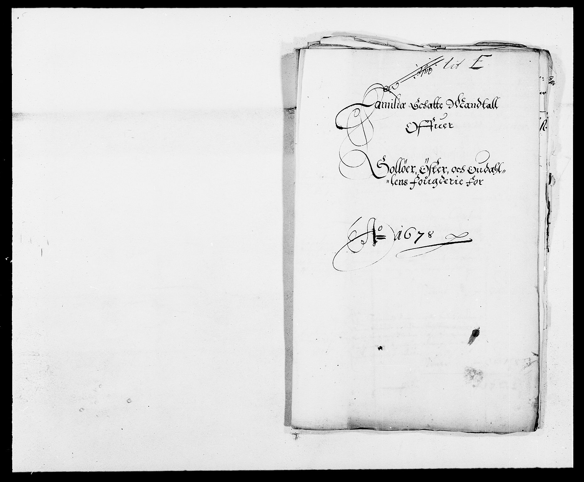 RA, Rentekammeret inntil 1814, Reviderte regnskaper, Fogderegnskap, R13/L0815: Fogderegnskap Solør, Odal og Østerdal, 1678, s. 106