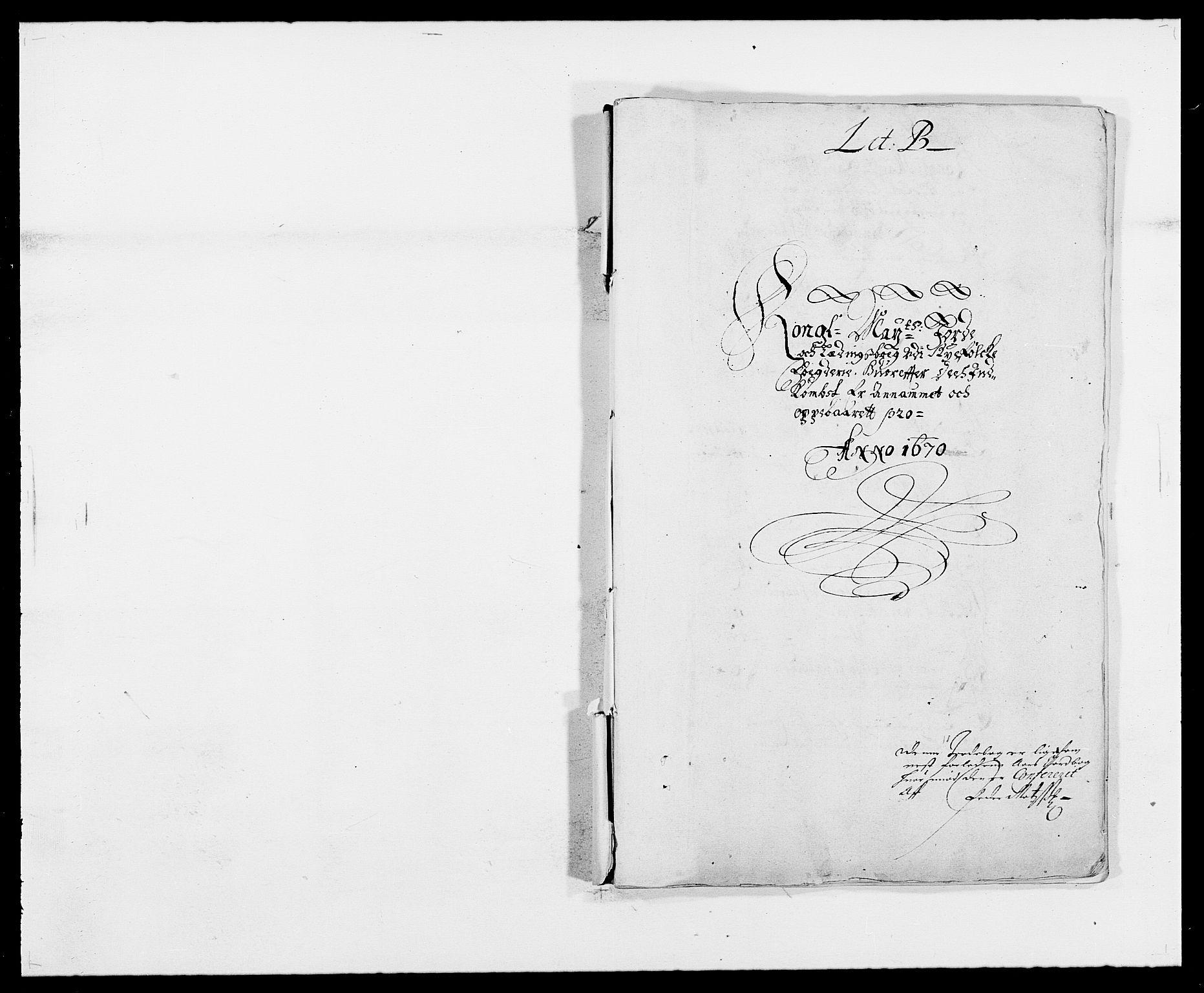 RA, Rentekammeret inntil 1814, Reviderte regnskaper, Fogderegnskap, R47/L2843: Fogderegnskap Ryfylke, 1670-1671, s. 11