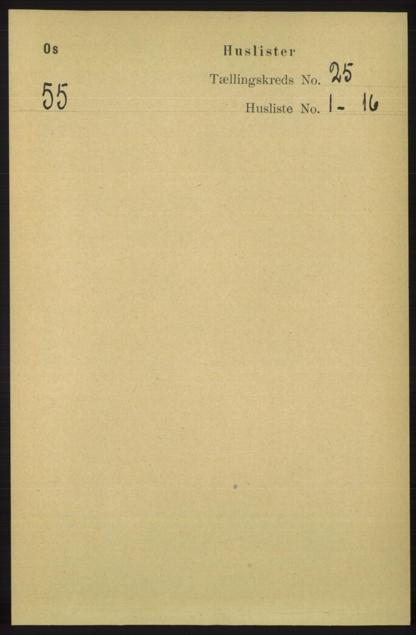 RA, Folketelling 1891 for 1243 Os herred, 1891, s. 5331