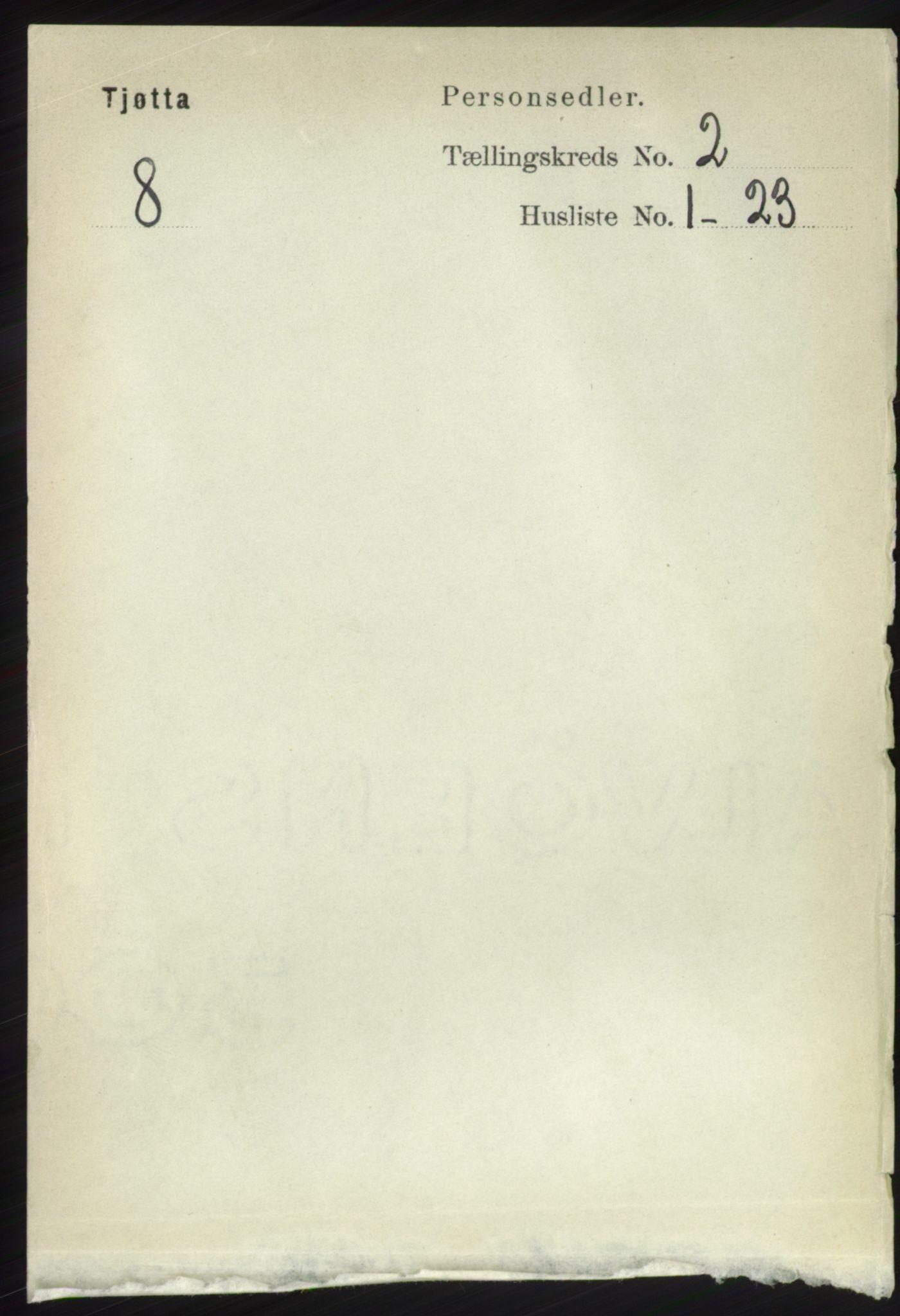 RA, Folketelling 1891 for 1817 Tjøtta herred, 1891, s. 893