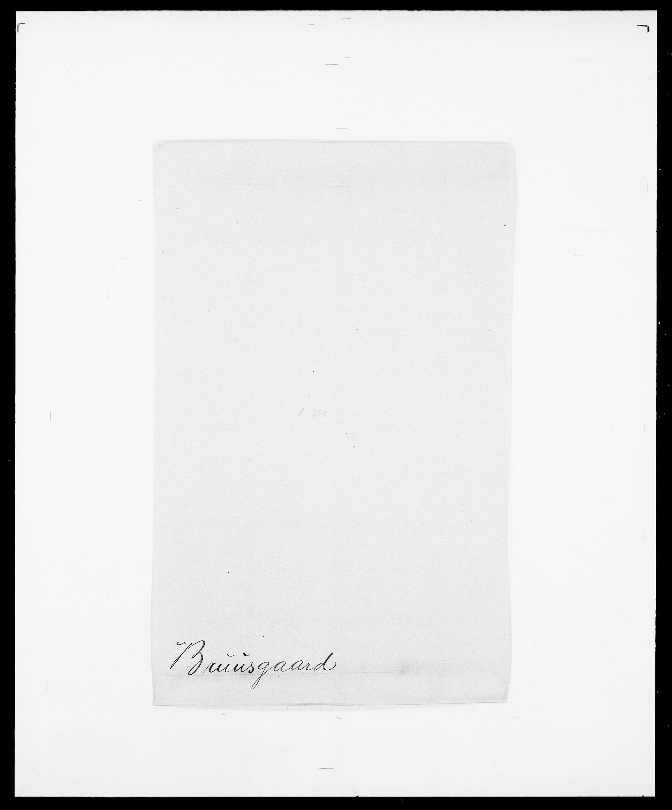 SAO, Delgobe, Charles Antoine - samling, D/Da/L0006: Brambani - Brønø, s. 894