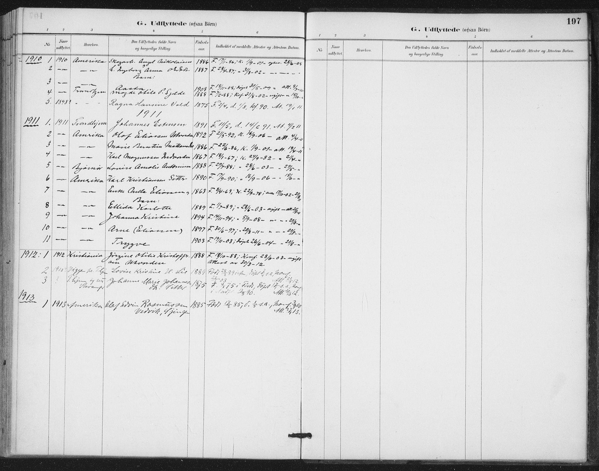 SAT, Ministerialprotokoller, klokkerbøker og fødselsregistre - Nord-Trøndelag, 772/L0603: Ministerialbok nr. 772A01, 1885-1912, s. 197